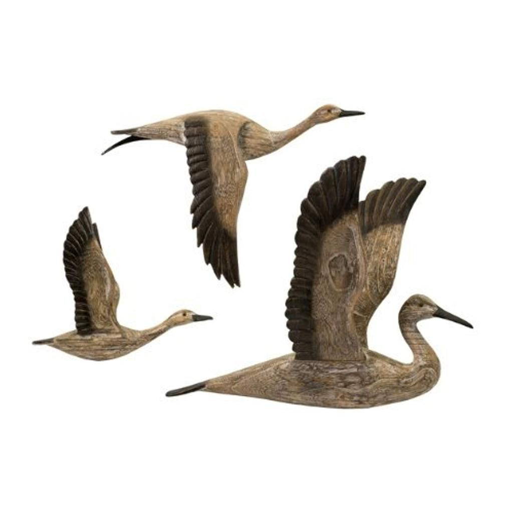 Wall Decor With Reeds Migration Wall Decor Sets (Set Of 3) (Gallery 1 of 20)