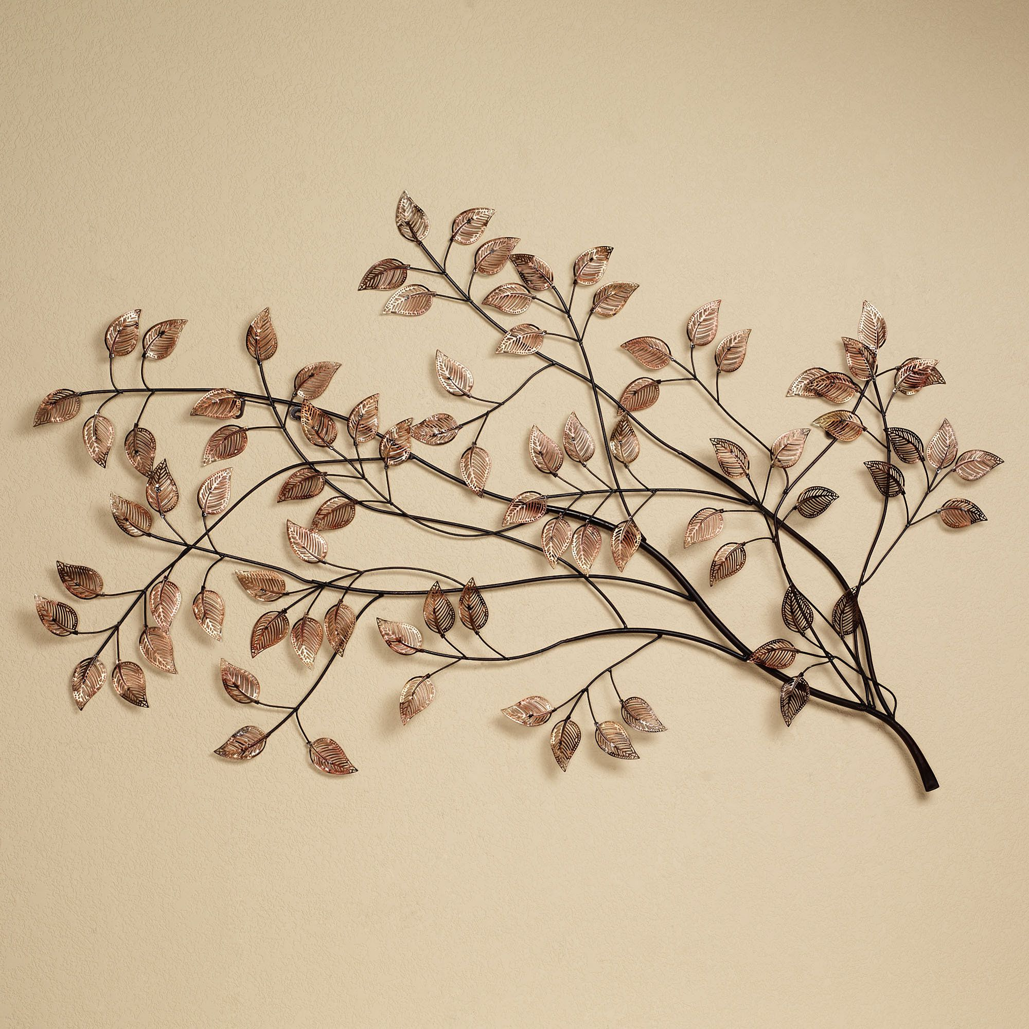 Walls & Accents Pertaining To Leaves Metal Sculpture Wall Decor (Gallery 1 of 20)
