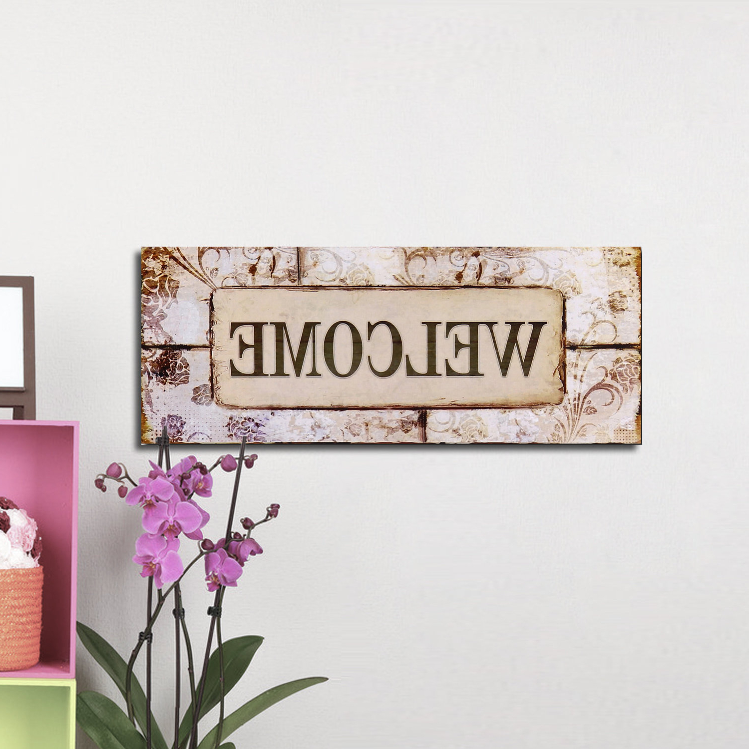 """Wayfair Inside Well Known In A Word """"welcome"""" Wall Decor (View 8 of 20)"""