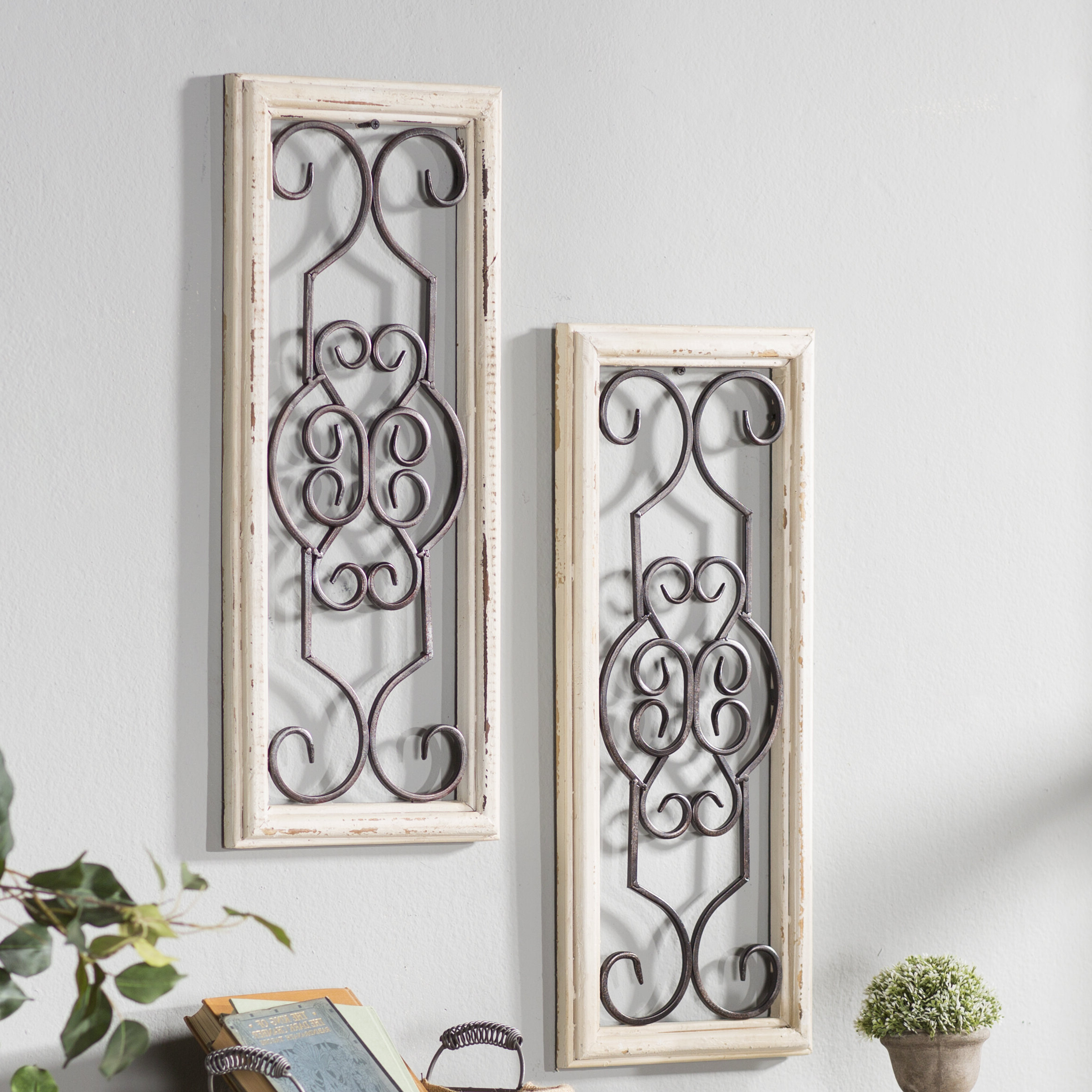 Wayfair Pertaining To 1 Piece Ortie Panel Wall Decor (Gallery 1 of 20)