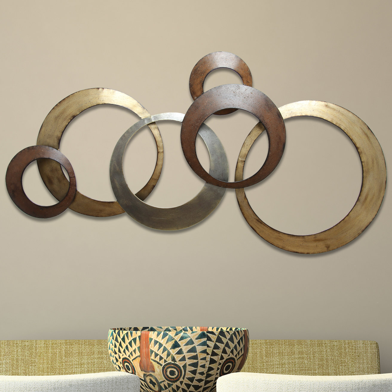 Wayfair With Rings Wall Decor (View 17 of 20)