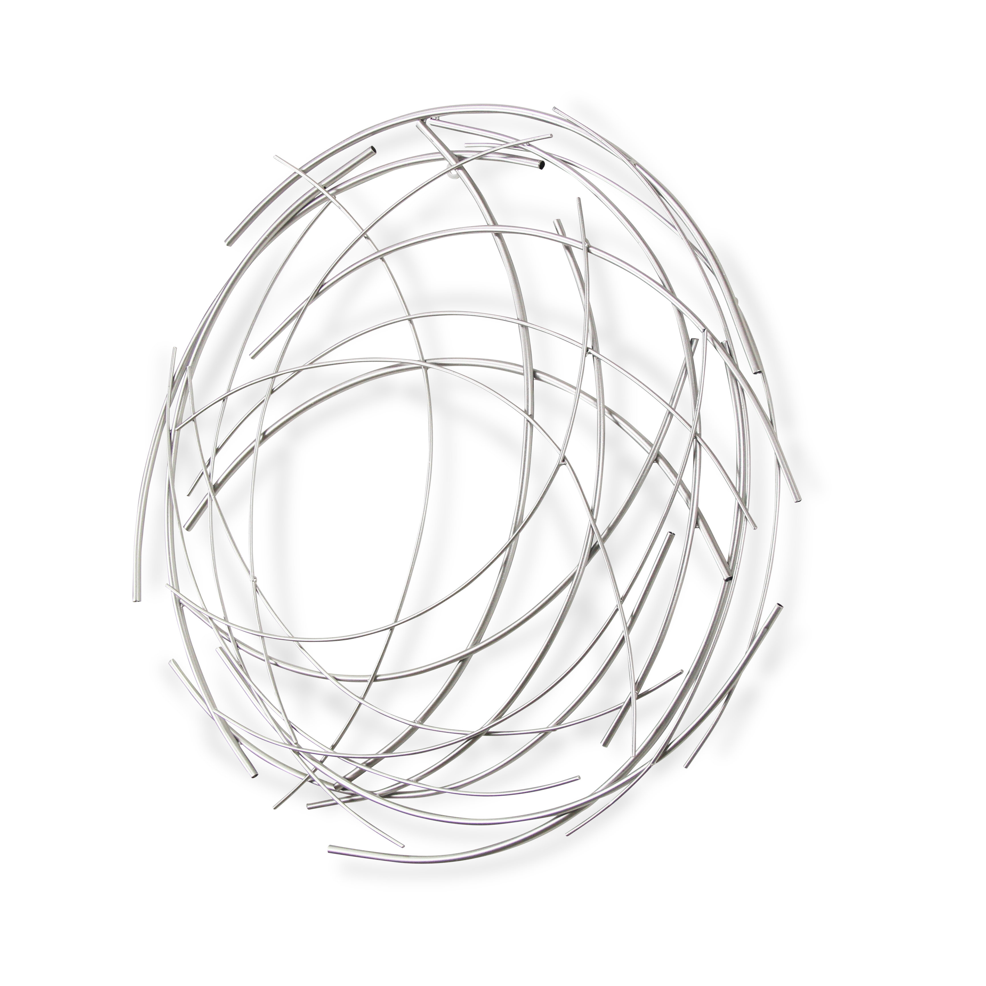 Featured Photo of Contemporary Abstract Round Wall Decor