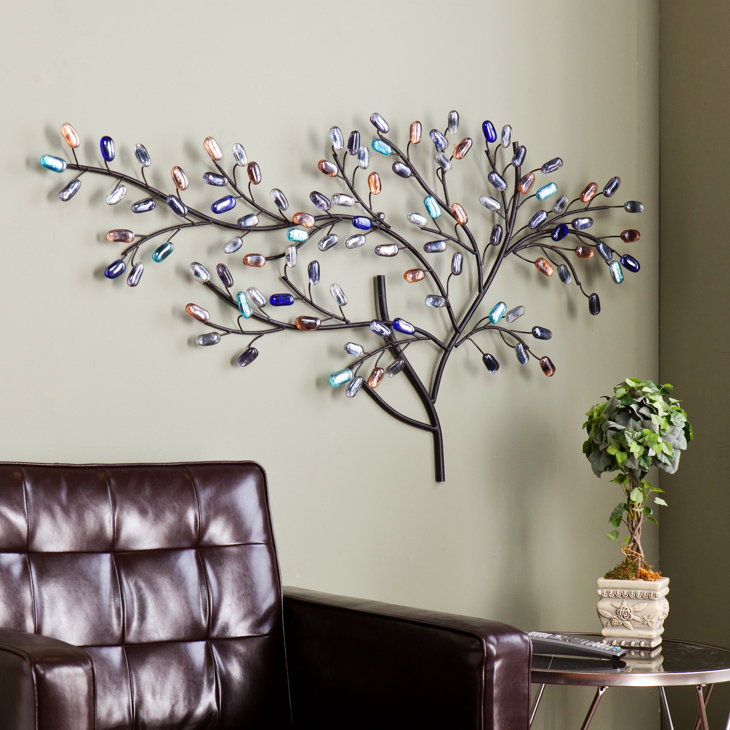 Well Known 2 Piece Multiple Layer Metal Flower Wall Decor Sets Regarding Metal Art (View 20 of 20)
