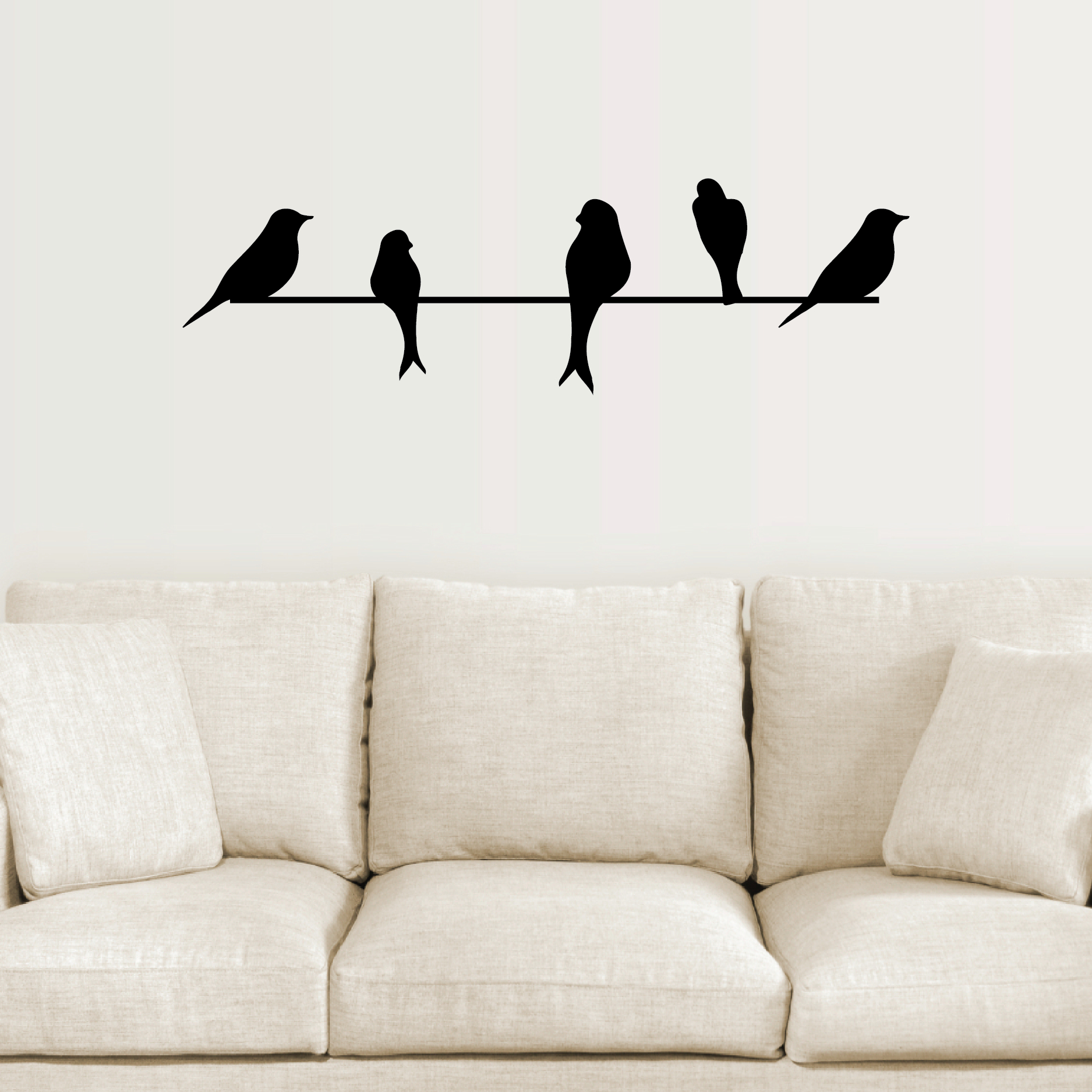 Well Known Birds On A Wire Wall Quotes™ Wall Art Decal (Gallery 2 of 20)