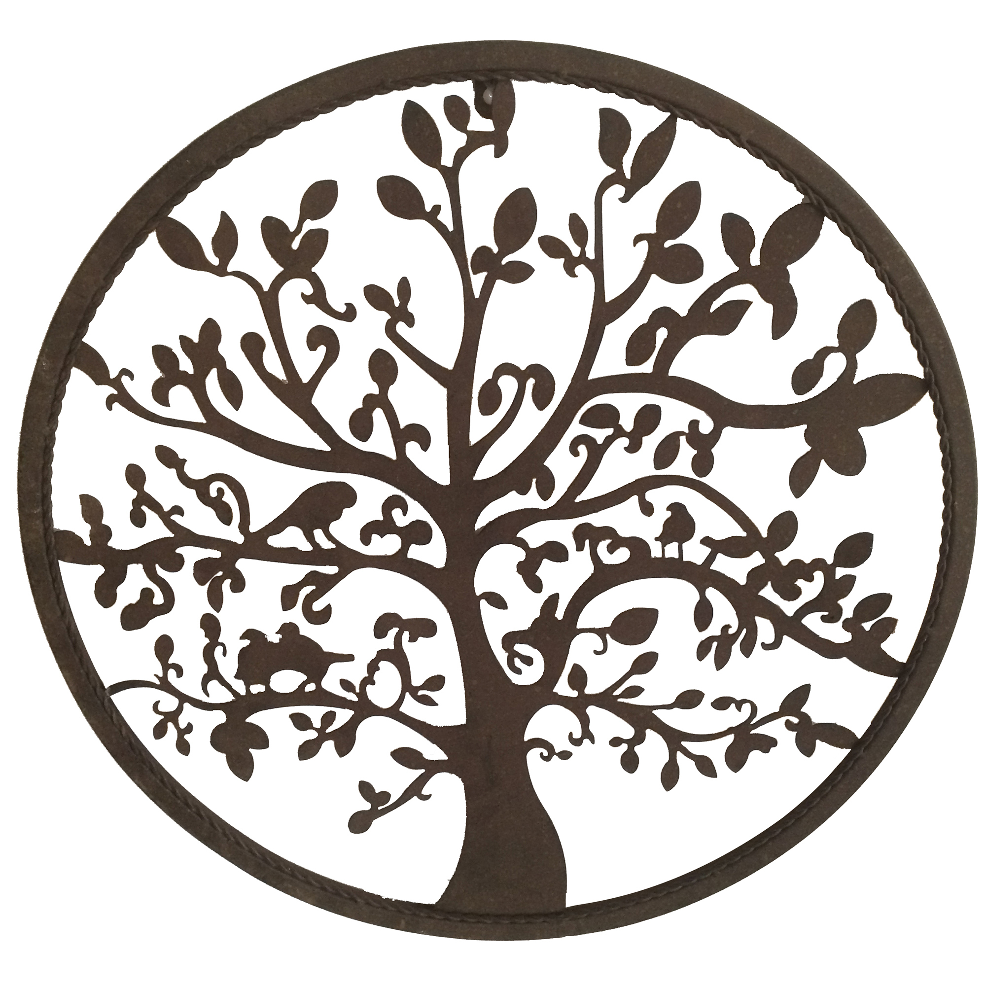 Well Known Circular Tree Of Life Metal Wall Decor (Gallery 7 of 20)