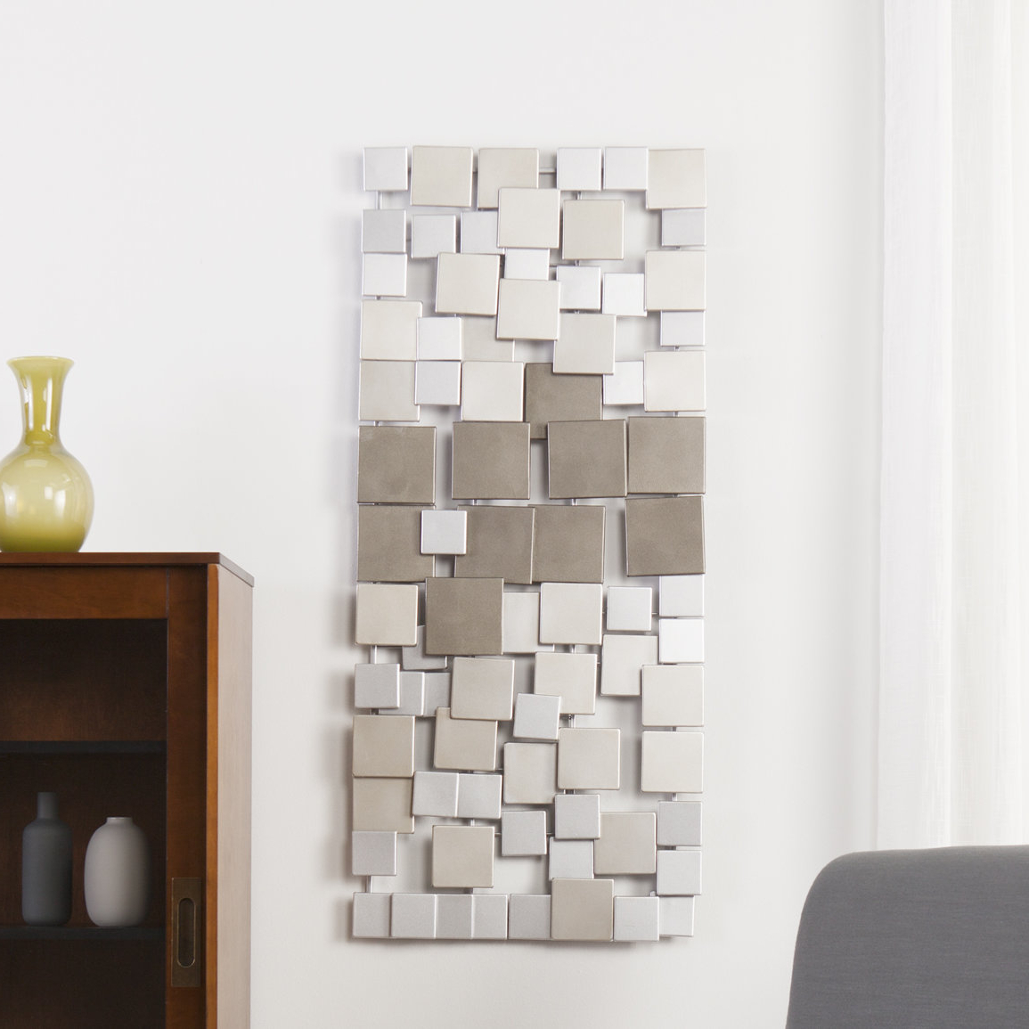 Well Known Contemporary Geometric Wall Decor Regarding Latitude Run Contemporary Geometric Wall Décor (Gallery 1 of 20)