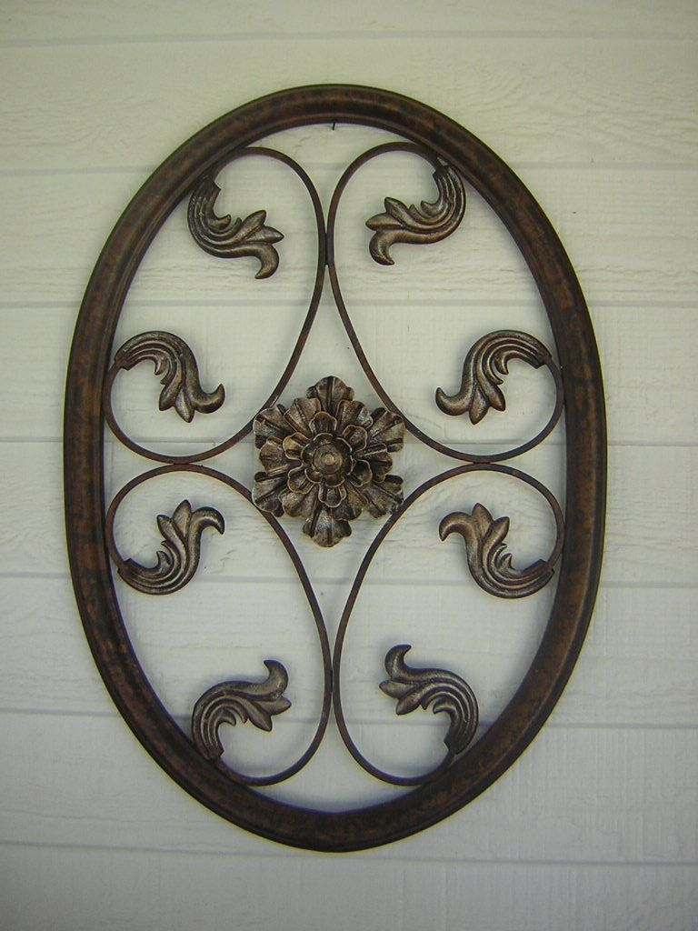 Well Known Oil Rubbed Metal Wall Decor For Oil Rubbed Bronze Metal Wall Hangings (View 19 of 20)