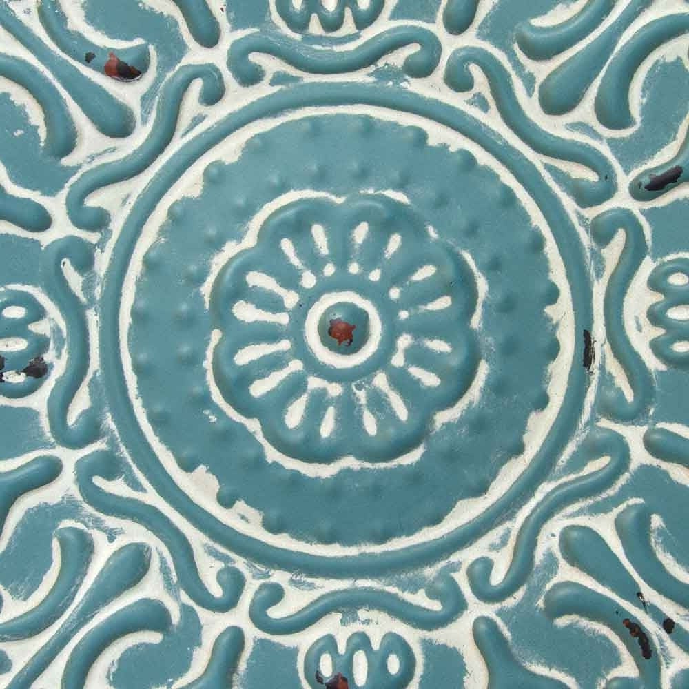 Well Known Shop Stratton Home Decor Small Blue Medallion Wall Decor – Free Throughout Small Medallion Wall Decor (View 19 of 20)