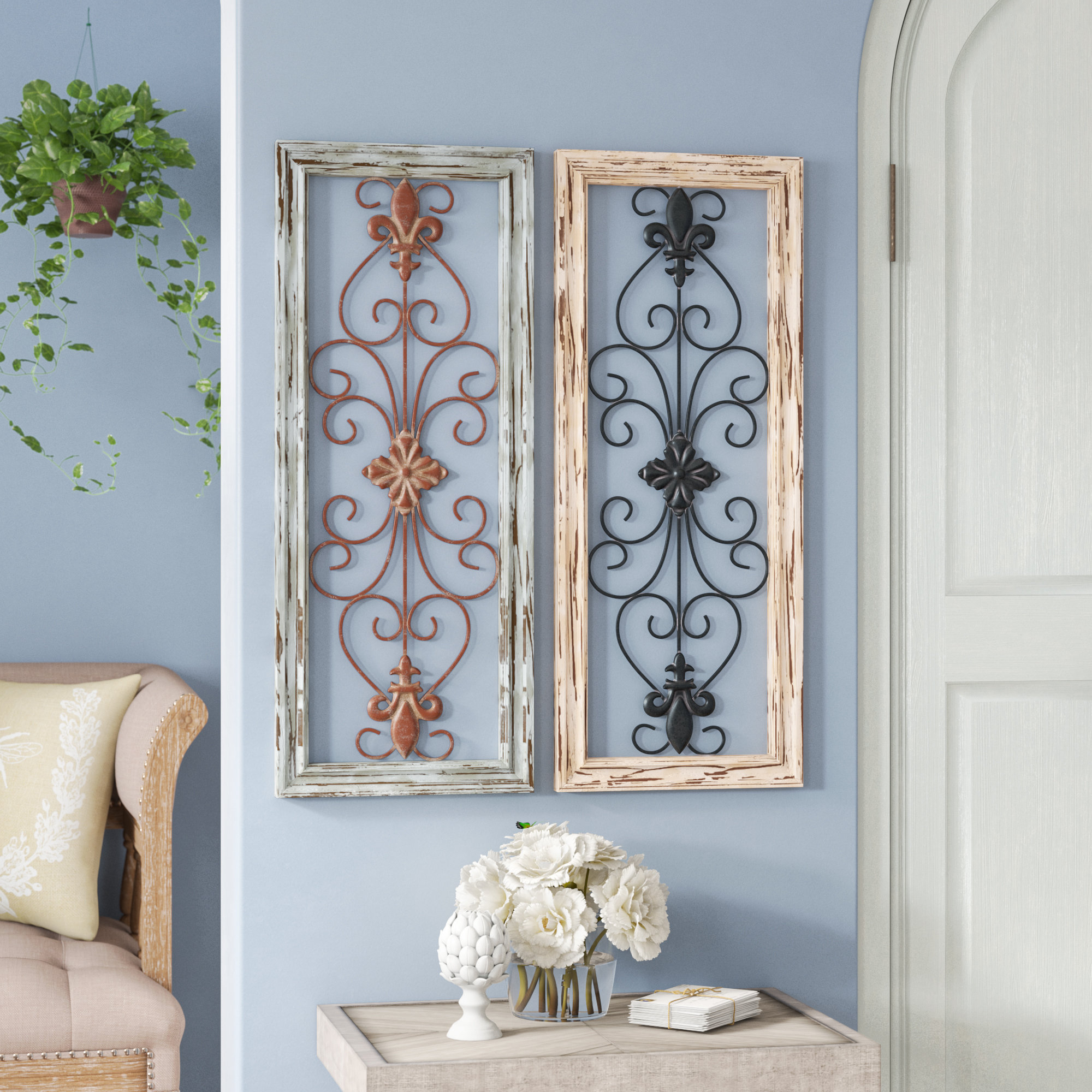 Well Liked 1 Piece Ortie Panel Wall Decor Pertaining To Lark Manor Panel Wood Wall Décor Set & Reviews (View 20 of 20)