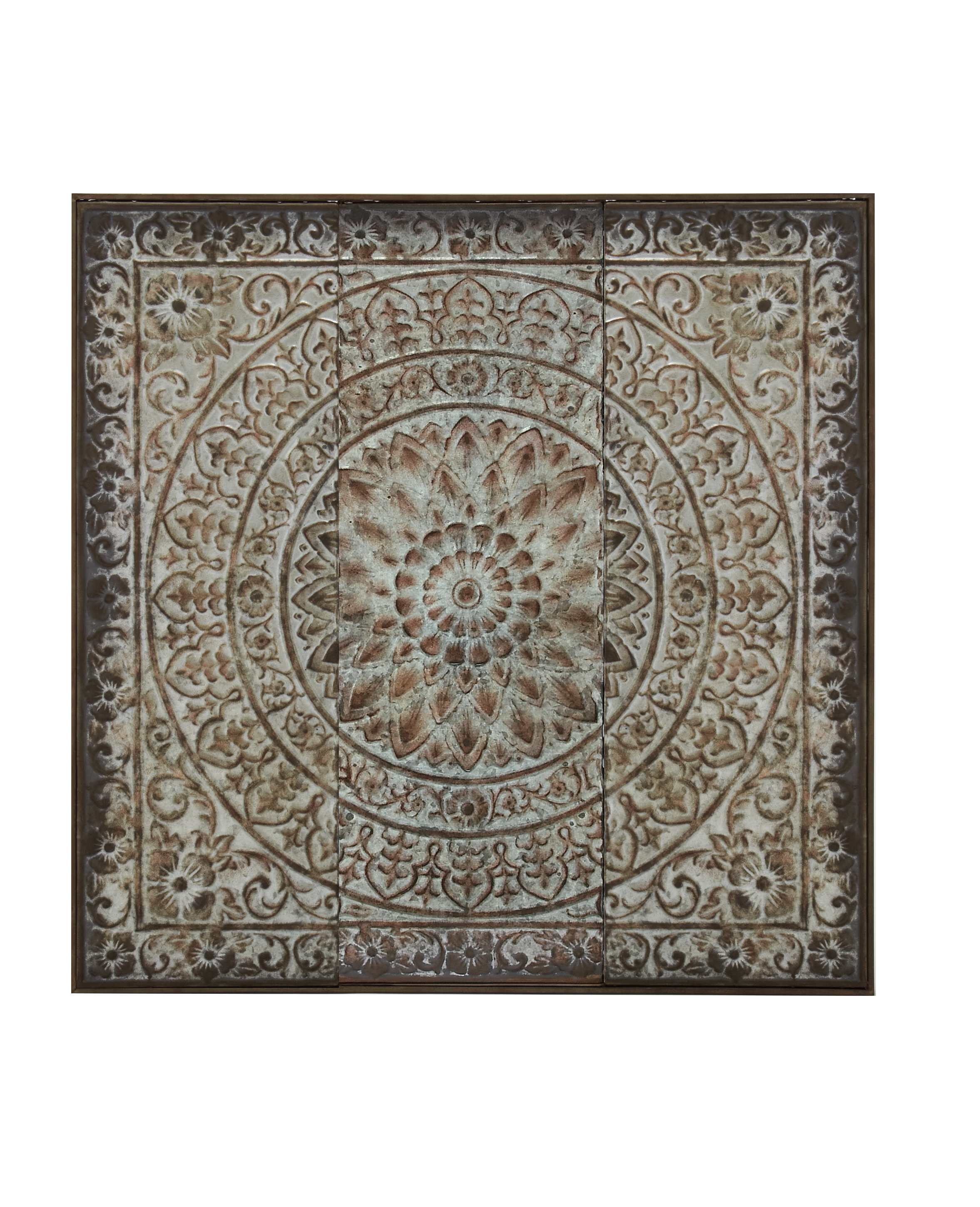 Well Liked Traditional Artistic Metal Wall Panel Décor & Reviews (View 20 of 20)