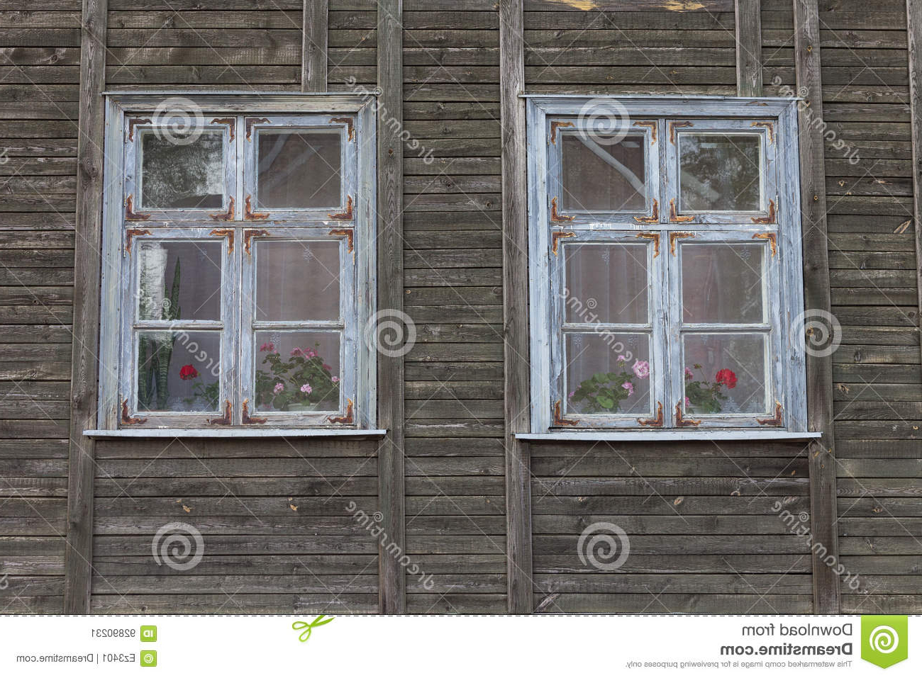 White Wooden Window Frame. Stock Image. Image Of Style – 92890231 Within Well Liked Old Rustic Barn Window Frame (Gallery 17 of 20)