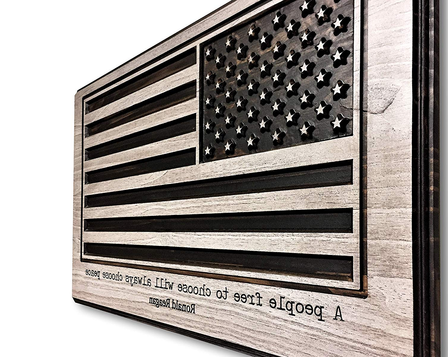 Widely Used American Flag 3D Wall Decor Inside Amazon: American Flag Art, Us Flag, Flag Of United States Of (Gallery 8 of 20)