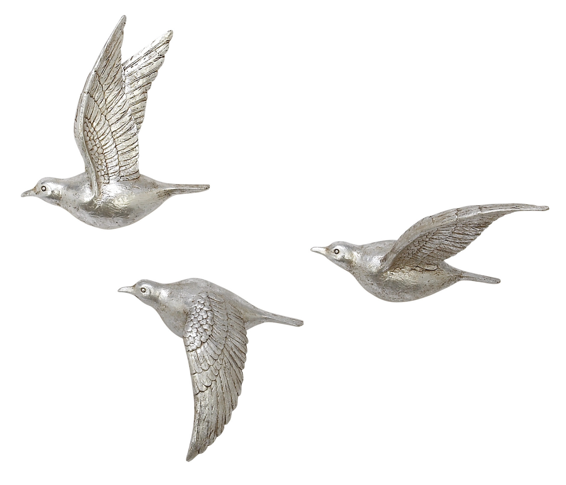 Widely Used Charlton Home 3 Piece Polystone Bird Wall Décor Set & Reviews (Gallery 6 of 20)