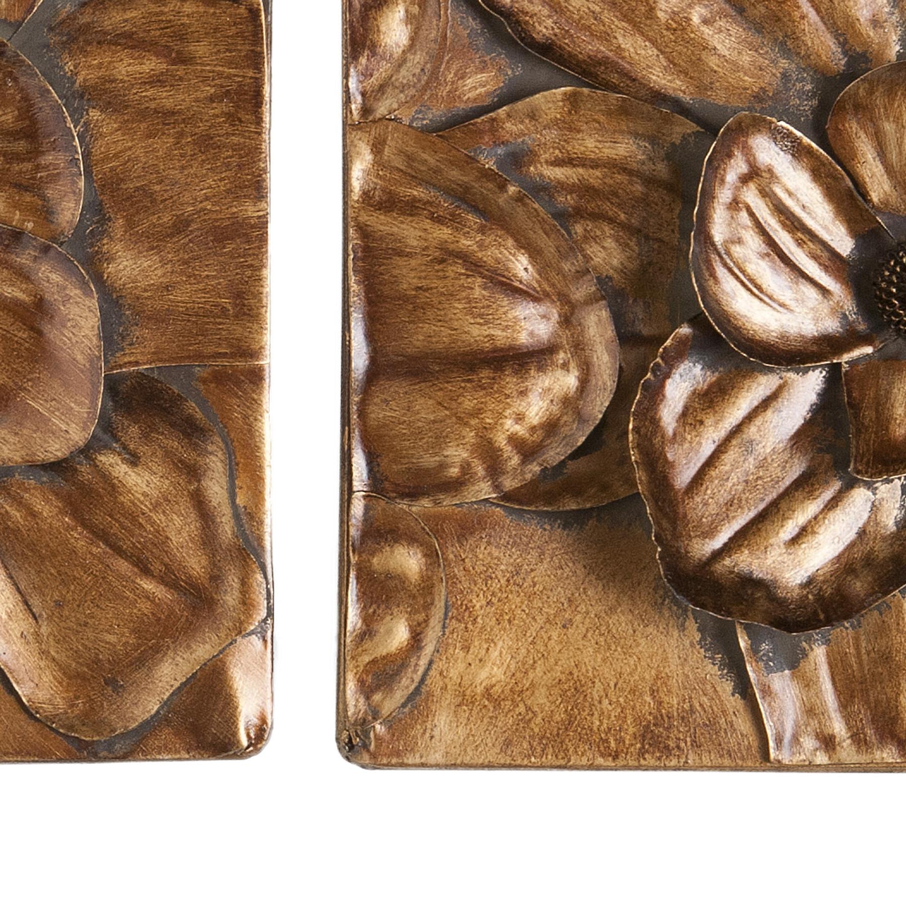 Wildon Home 3 Piece Burton Magnolia Panel Wall D Cor Set – Walmart Regarding Popular 3 Piece Magnolia Brown Panel Wall Decor Sets (View 8 of 20)