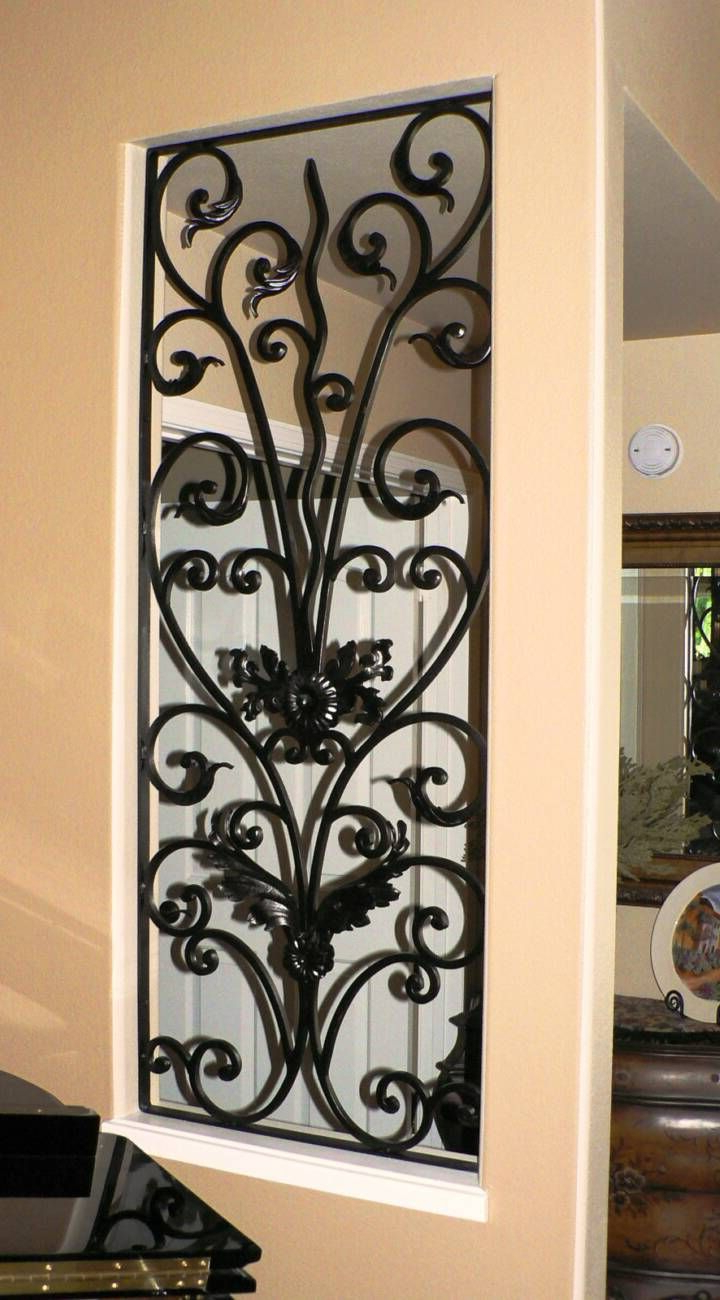 Wrought Iron Decor (Gallery 8 of 20)