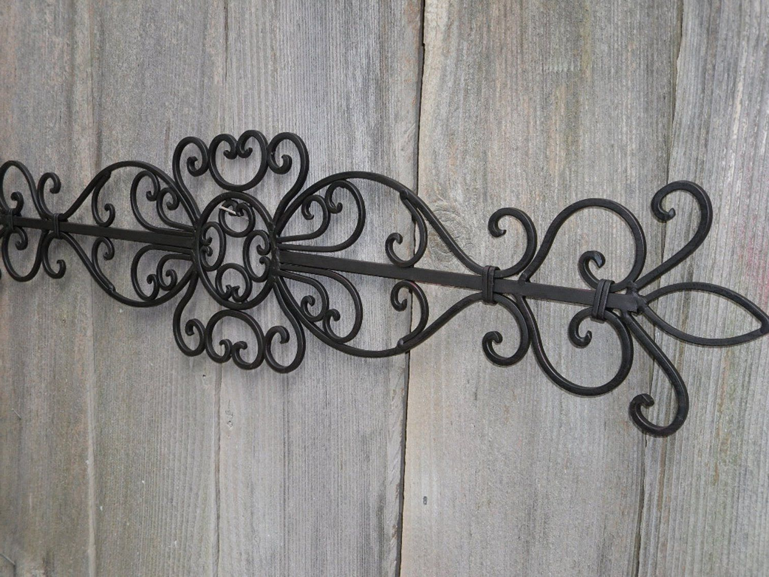 Wrought Iron Wall Decor (View 20 of 20)