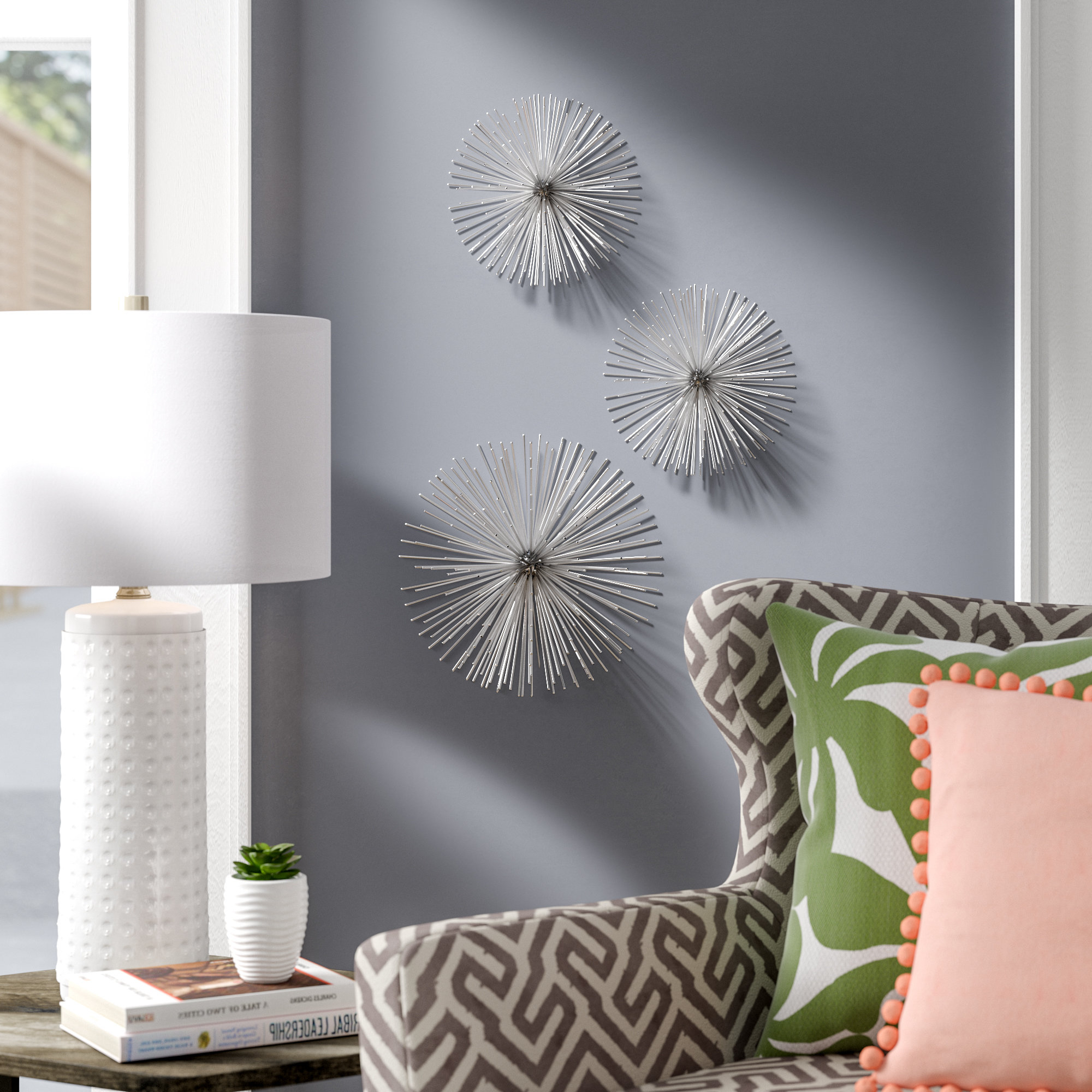 Wrought Studio Alvarez Starburst Wall Décor & Reviews (Gallery 13 of 20)