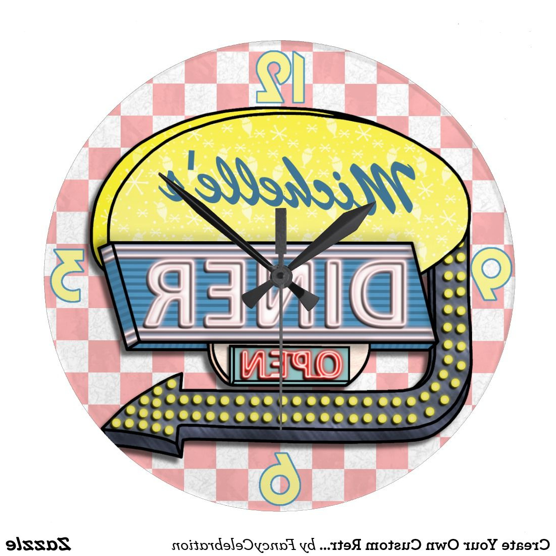 Zazzle In 2019 With Casual Country Eat Here Retro Wall Decor (Gallery 7 of 20)