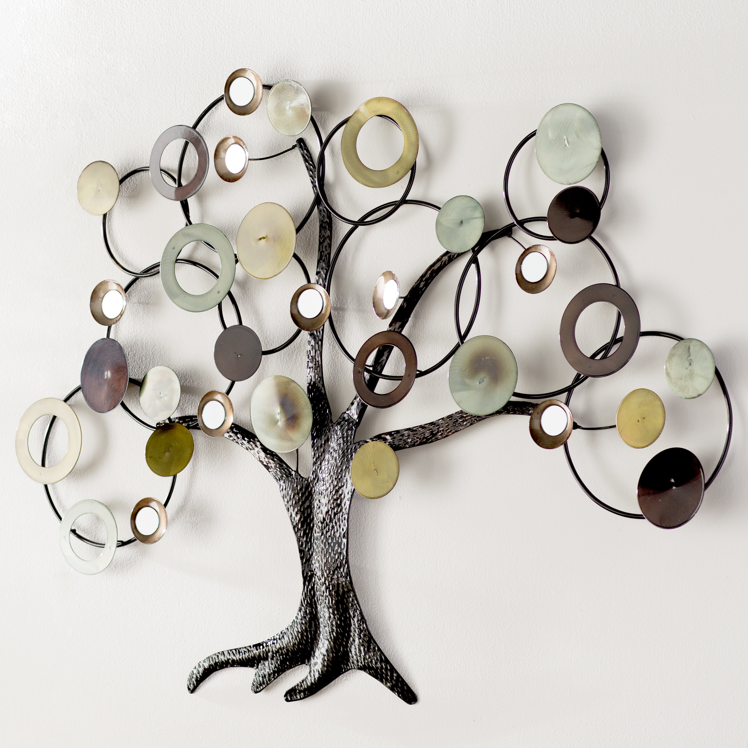 2019 Winston Porter Abstract Tree Wall Décor & Reviews (View 2 of 20)