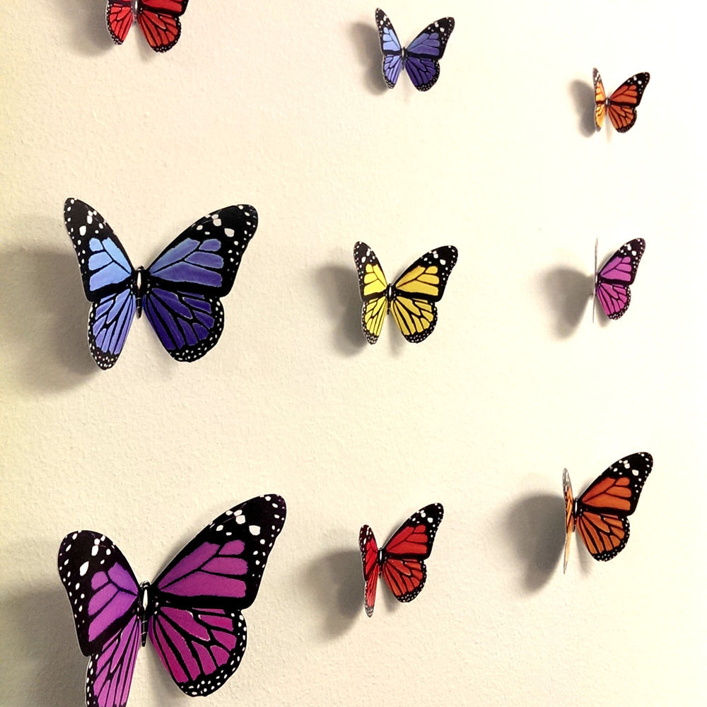 25 Magnanimous Butterfly Wall Decor That Gives You Pleasure Within Most Current Ila Metal Butterfly Wall Decor (Gallery 16 of 20)