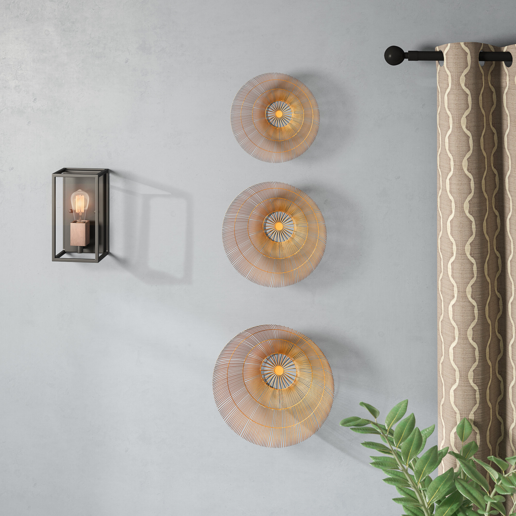 3 Piece Wall Decor Sets By Wrought Studio Throughout Most Up To Date Brayden Studio 3 Piece Wall Décor Set (Gallery 7 of 20)