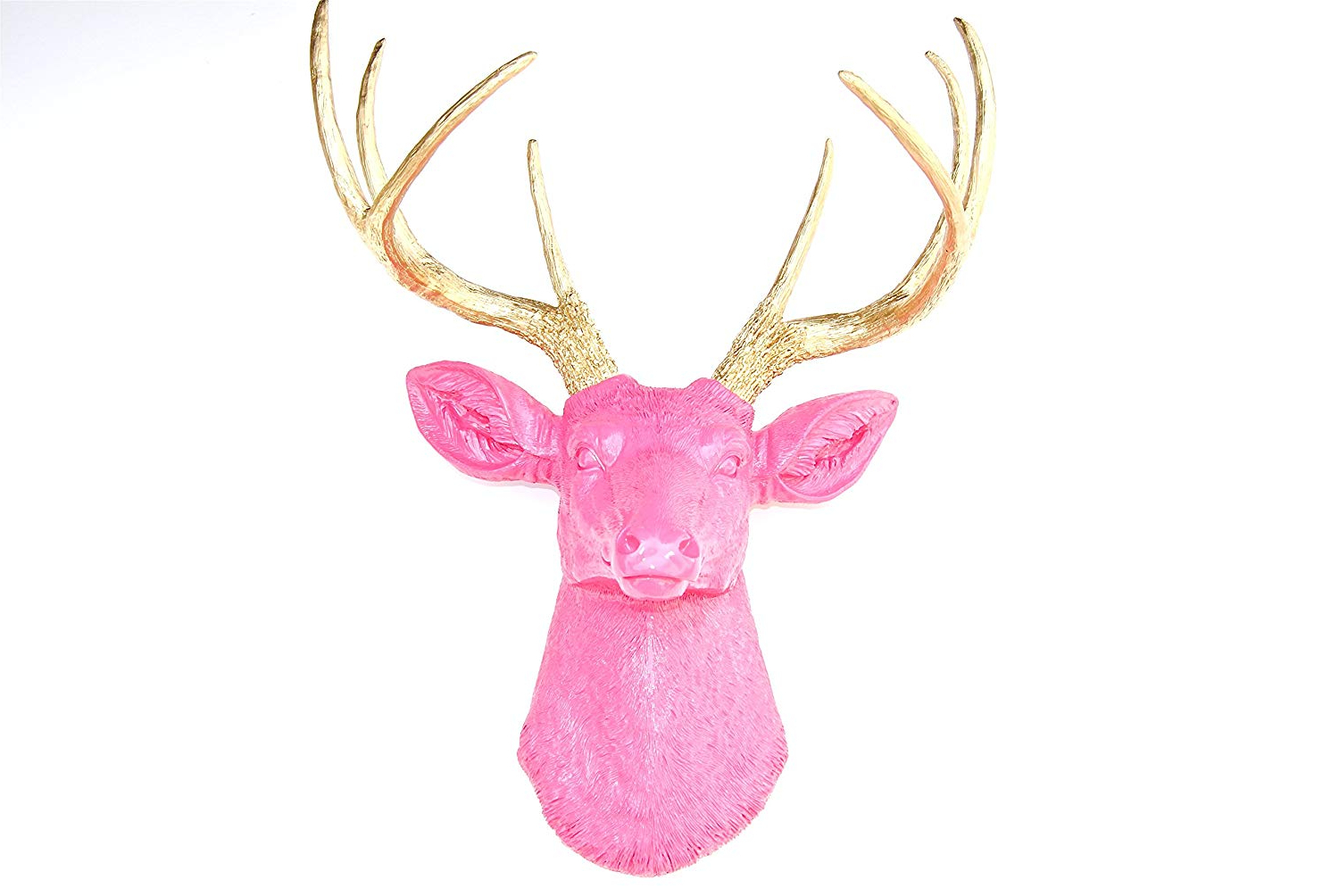 Amazon: Near And Deer D6363 Faux Taxidermy 8 Point Deer Head Throughout Popular Atlantis Faux Taxidermy Wall Decor (View 14 of 20)