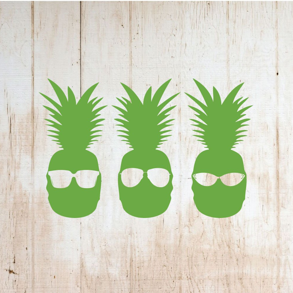 Amazon: Pineapple Wall Decor – Cool Pineapple With Sunglasses Pertaining To Preferred Pineapple Wall Decor (View 12 of 20)