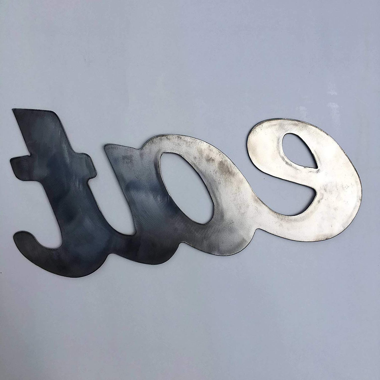 """Amazon: Rustic Home, Eat Sign, Farmhouse, Metal Words, Kitchen With Recent Grey """"eat"""" Sign With Rebar Decor (View 8 of 20)"""
