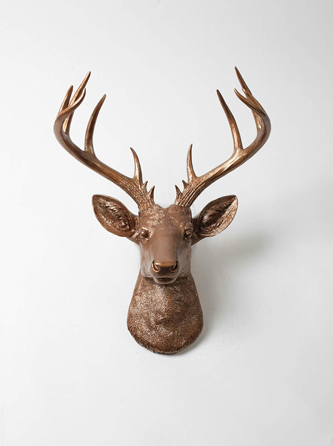 Amazon: X Large Deer Head Wall Mount , The Xl Bennett Deer Wall For Well Known Large Deer Head Faux Taxidermy Wall Decor (View 4 of 20)