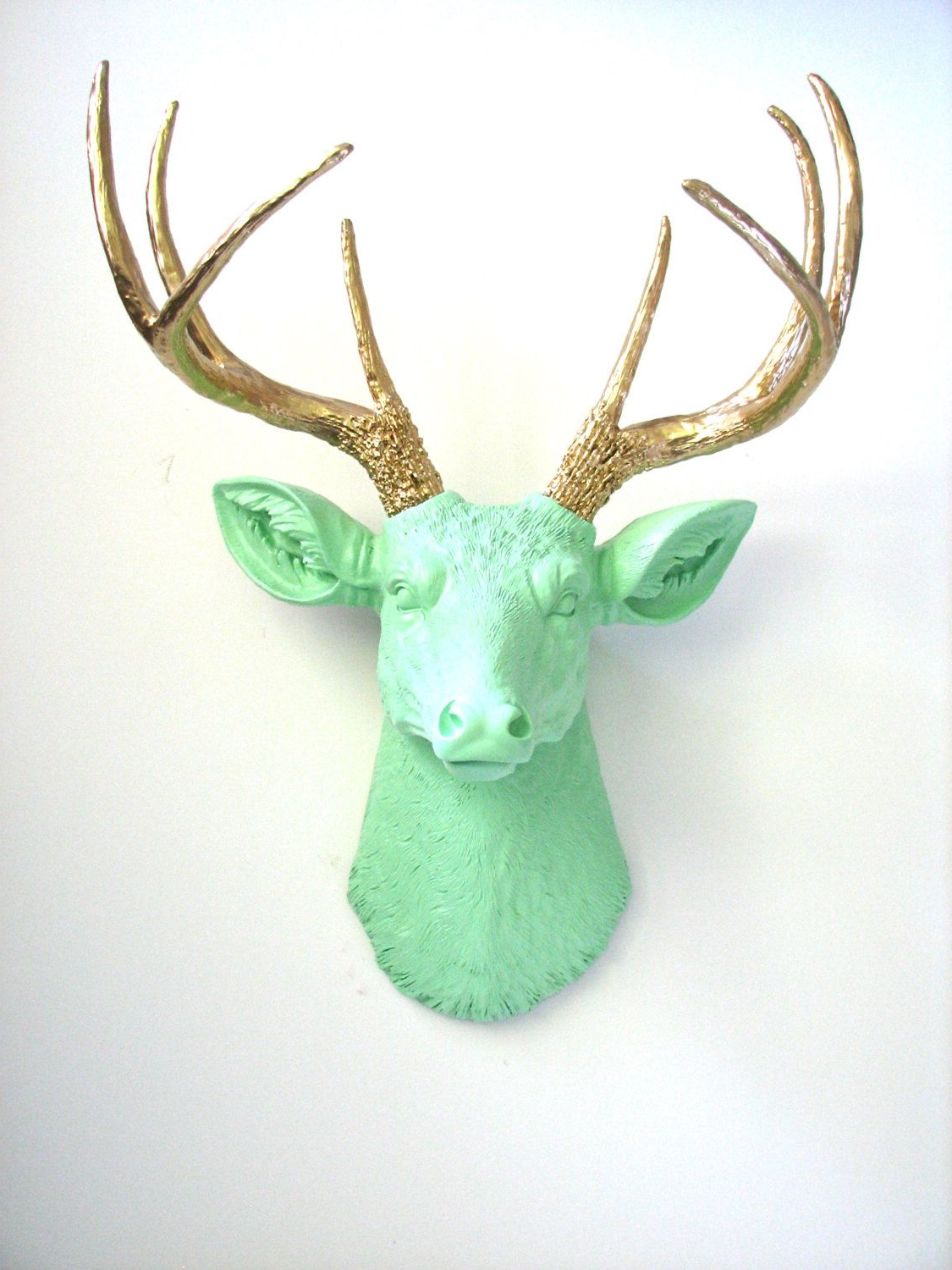 Animal Heads, Faux In Current Atlantis Faux Taxidermy Wall Decor (View 13 of 20)