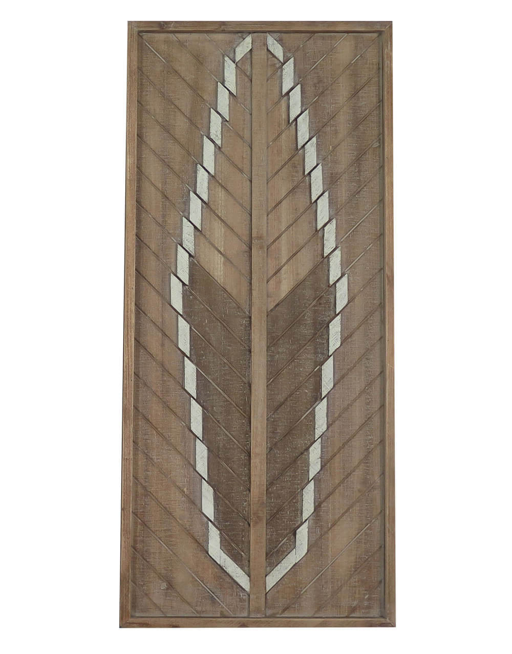 Best And Newest Buy Arrow Feather Detail Large Frame Wall Tribal Art Decor Regarding Brown Metal Tribal Arrow Wall Decor (View 20 of 20)
