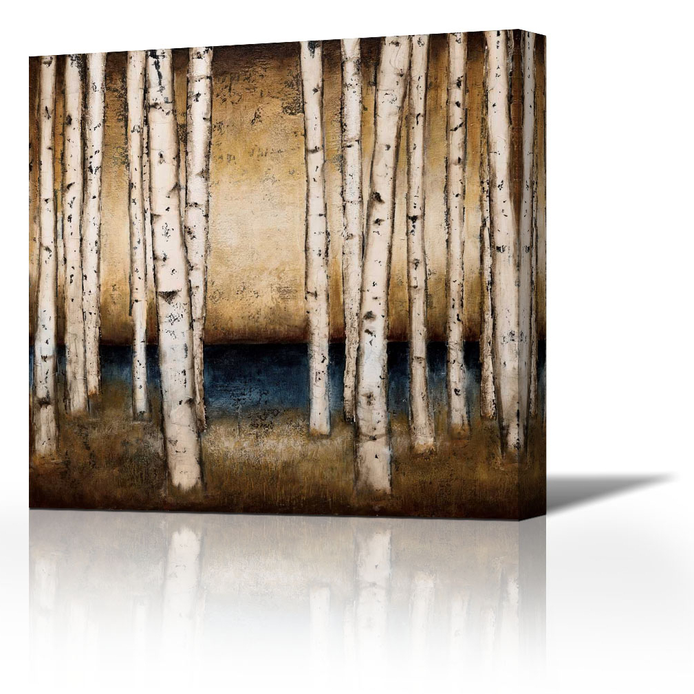 Birch Landing – Contemporary Fine Art Giclee On Canvas Gallery Wrap Within Popular Landing Art Wall Decor (Gallery 11 of 20)