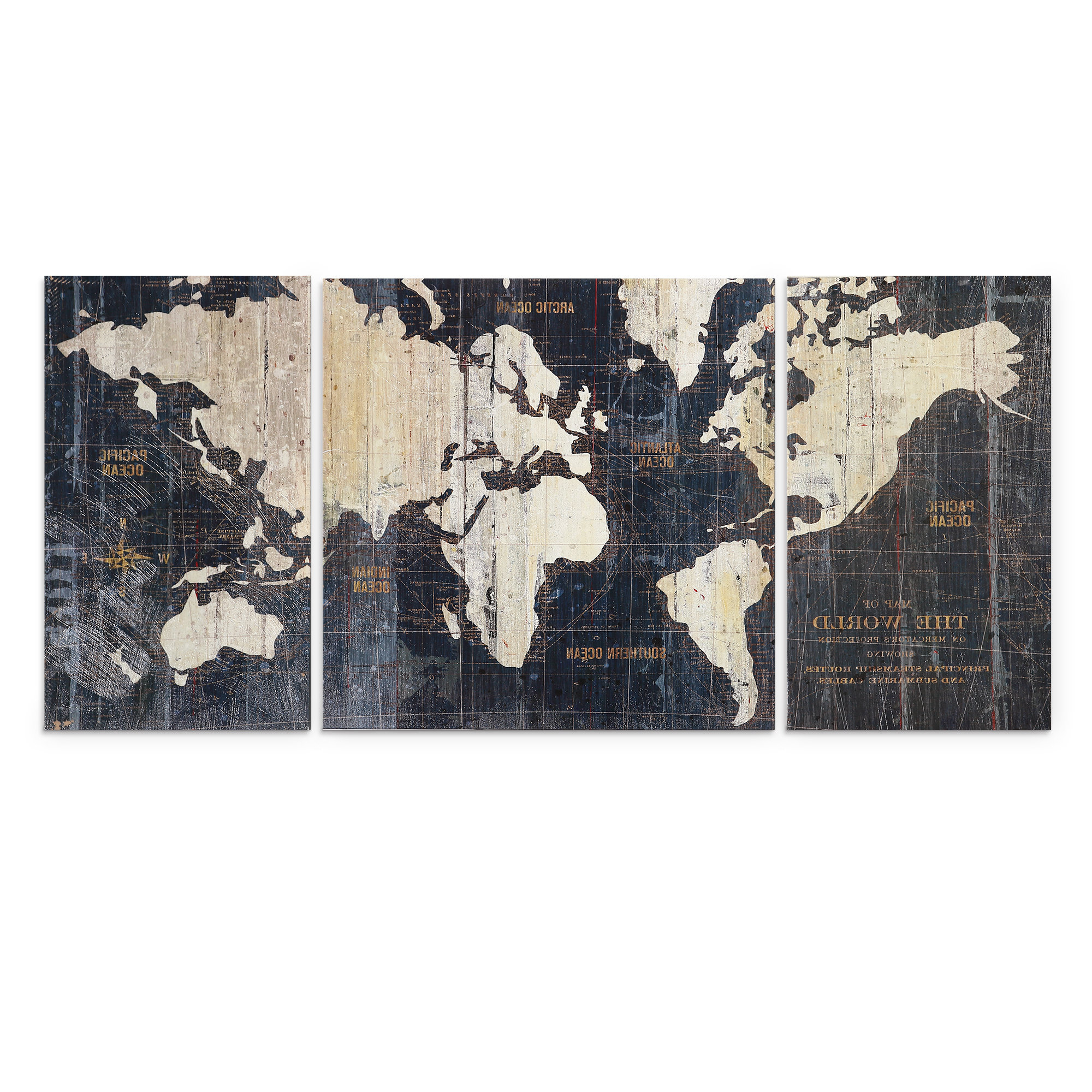 Birch Lane For Current 3 Piece Wall Decor Sets By Wrought Studio (View 6 of 20)