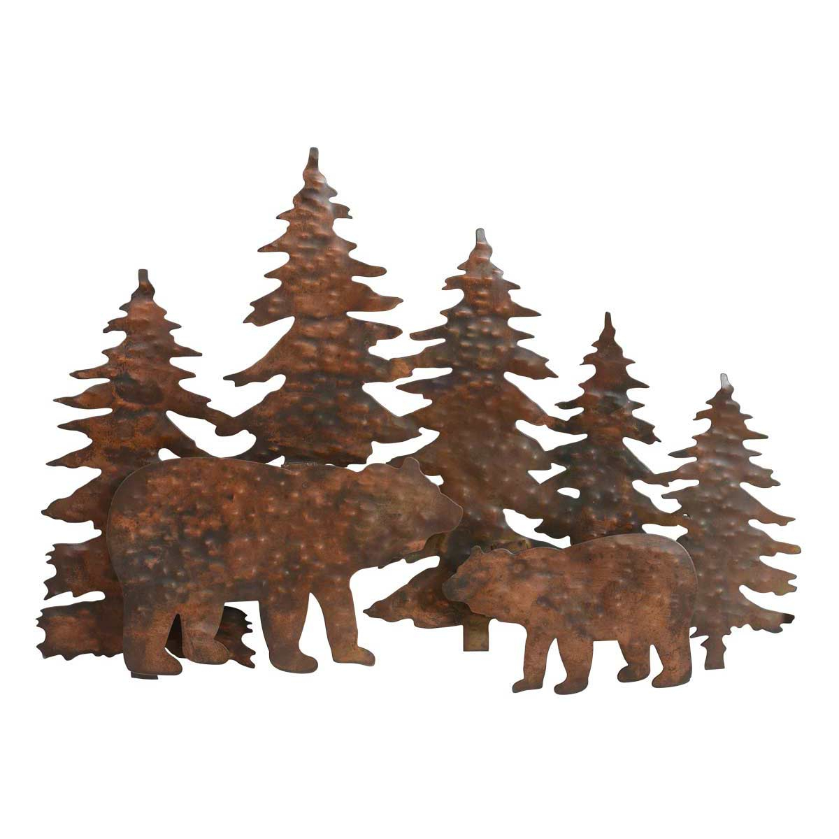 Brown Metal Tribal Arrow Wall Decor Intended For Most Current Copper Mountain Bear Metal Wall Art (View 13 of 20)