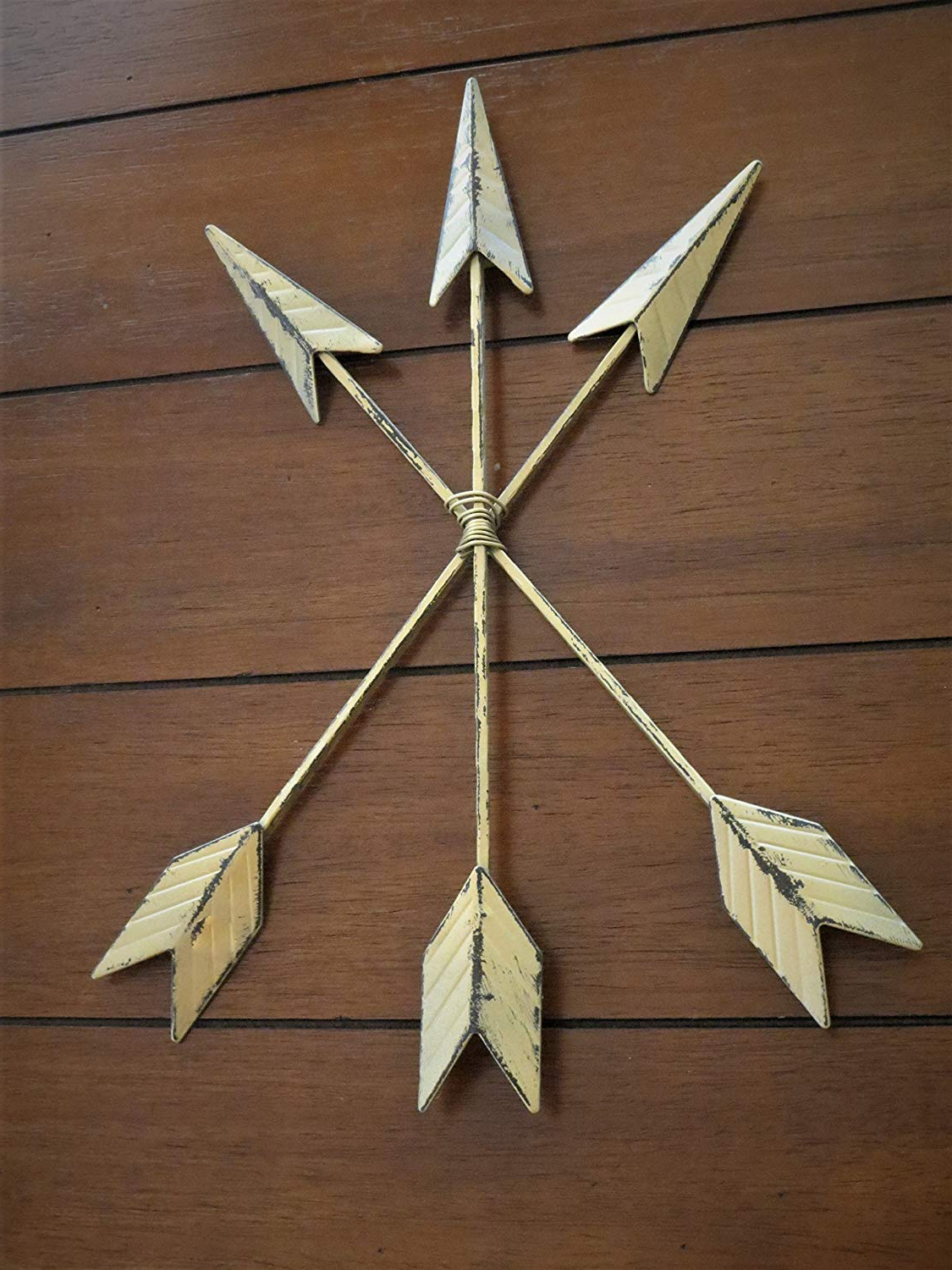 Brown Metal Tribal Arrow Wall Decor Regarding Newest Amazon: Arrow Wall Decor Bohemian Boho Chic Style Tribal Native (View 4 of 20)