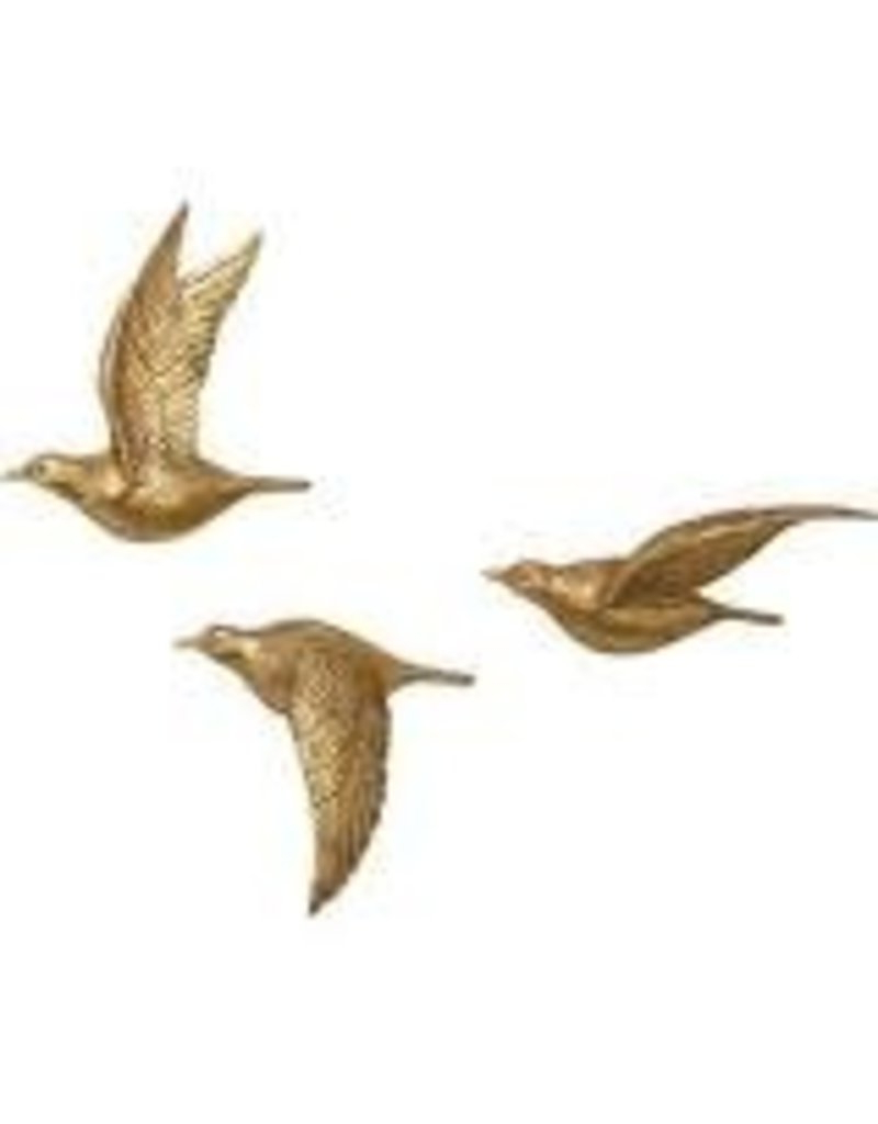Charlton Home 3 Piece Polystone Bird Wall Decor Set – Heirloom Home In Well Known Metal Wall Decor By Charlton Home (View 4 of 20)