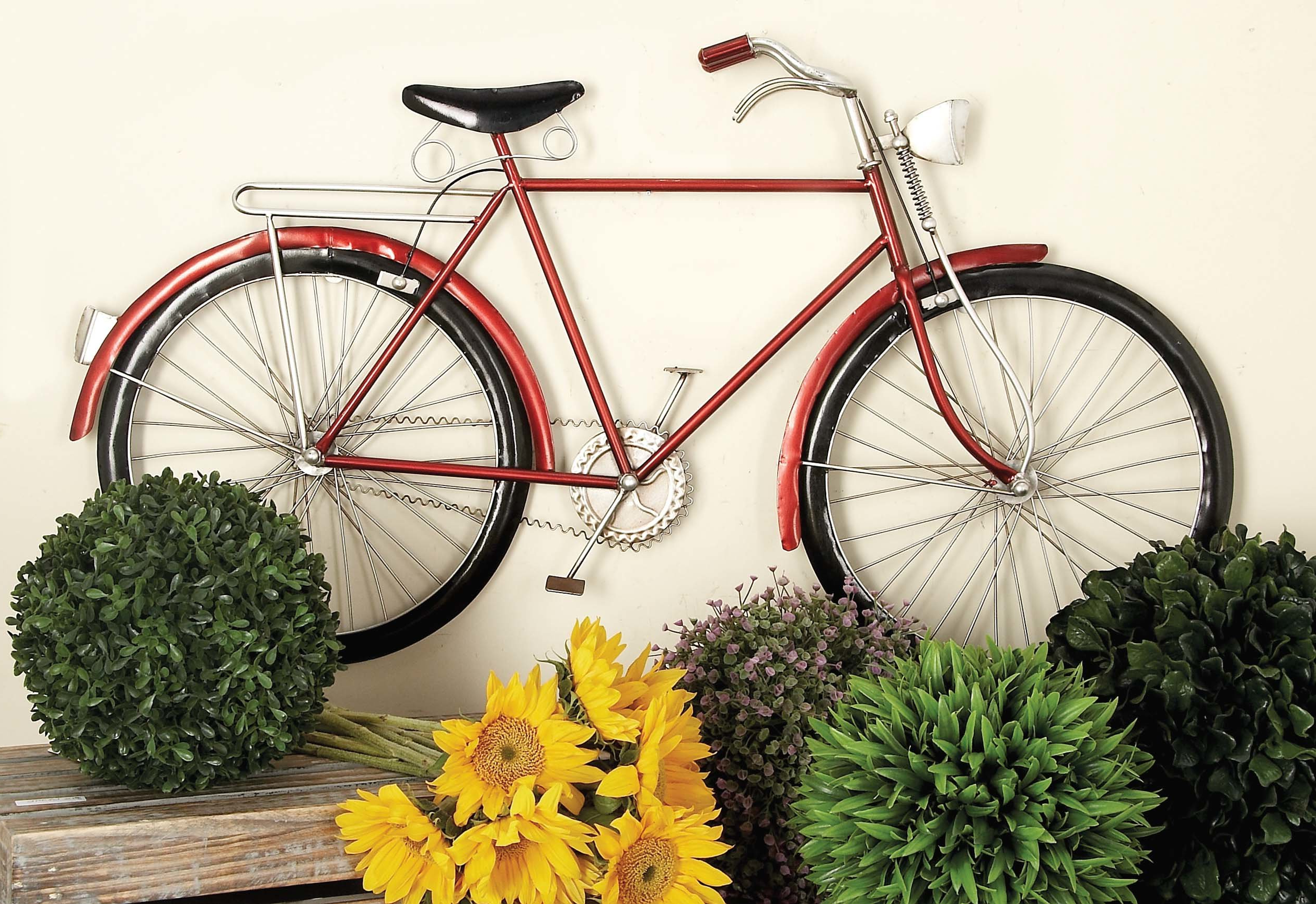 Cole & Grey Bike Wall Décor & Reviews (Gallery 8 of 20)