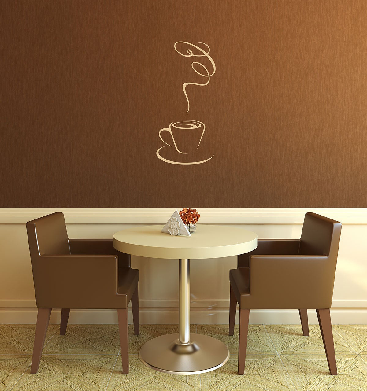 Current Coffee Wall Decal Coffee Shop Coffee Lover Kitchen Wall (View 9 of 20)