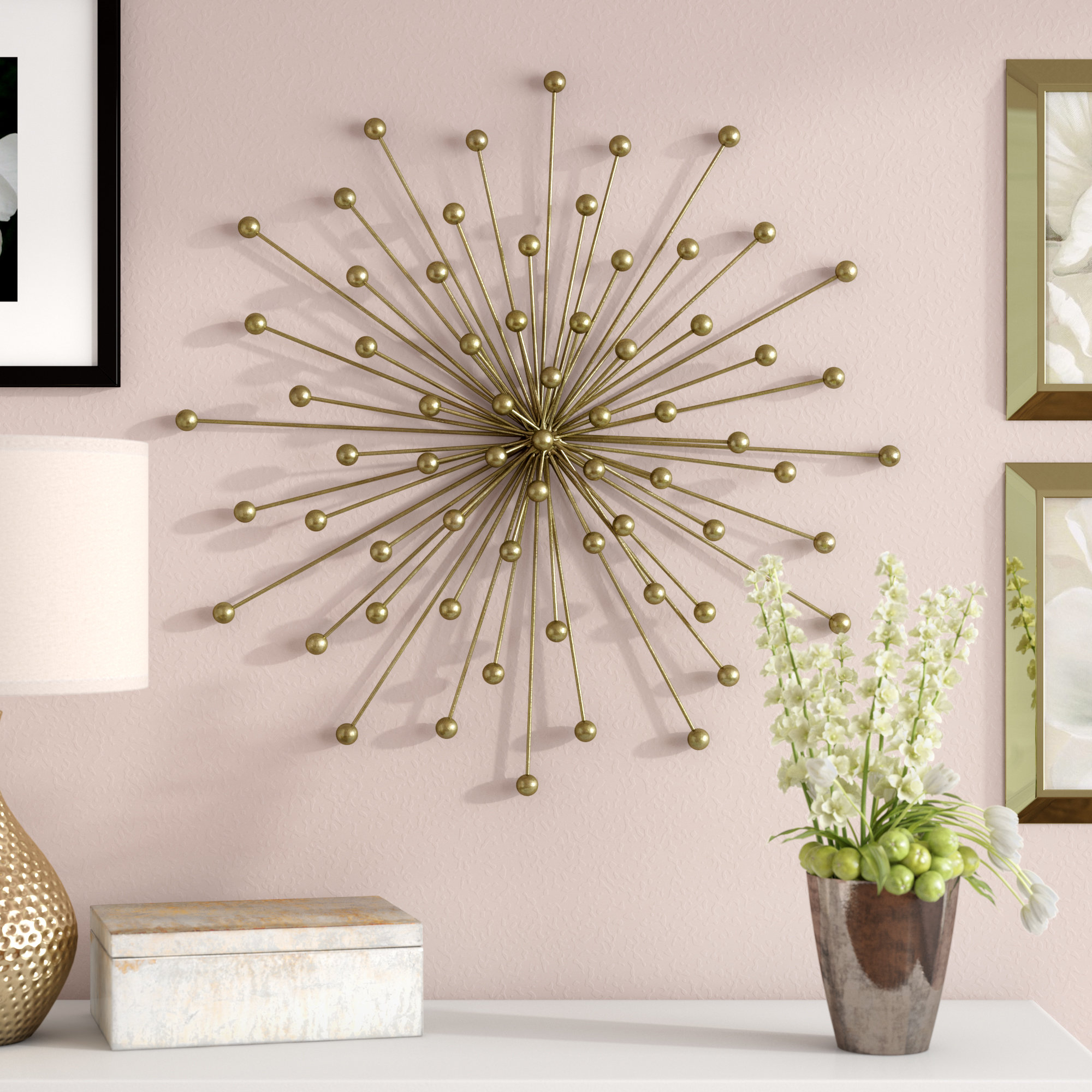 Current Starburst Wall Decor By Willa Arlo Interiors For Willa Arlo Interiors Burst Wall Décor & Reviews (View 3 of 20)