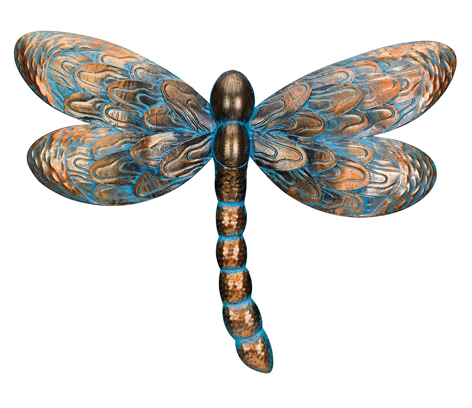Dragonfly Wall Decor Intended For Favorite Amazon : Regal Art & Gift Patina Dragonfly Wall Decor : Garden (View 6 of 20)