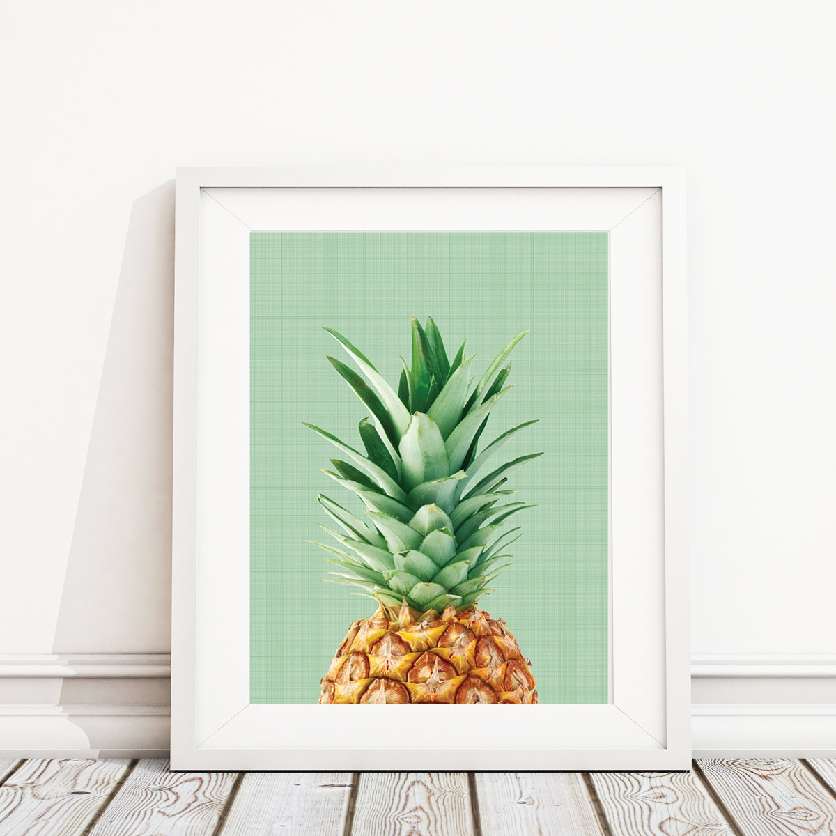 Etsy Inside Pineapple Wall Decor (View 2 of 20)