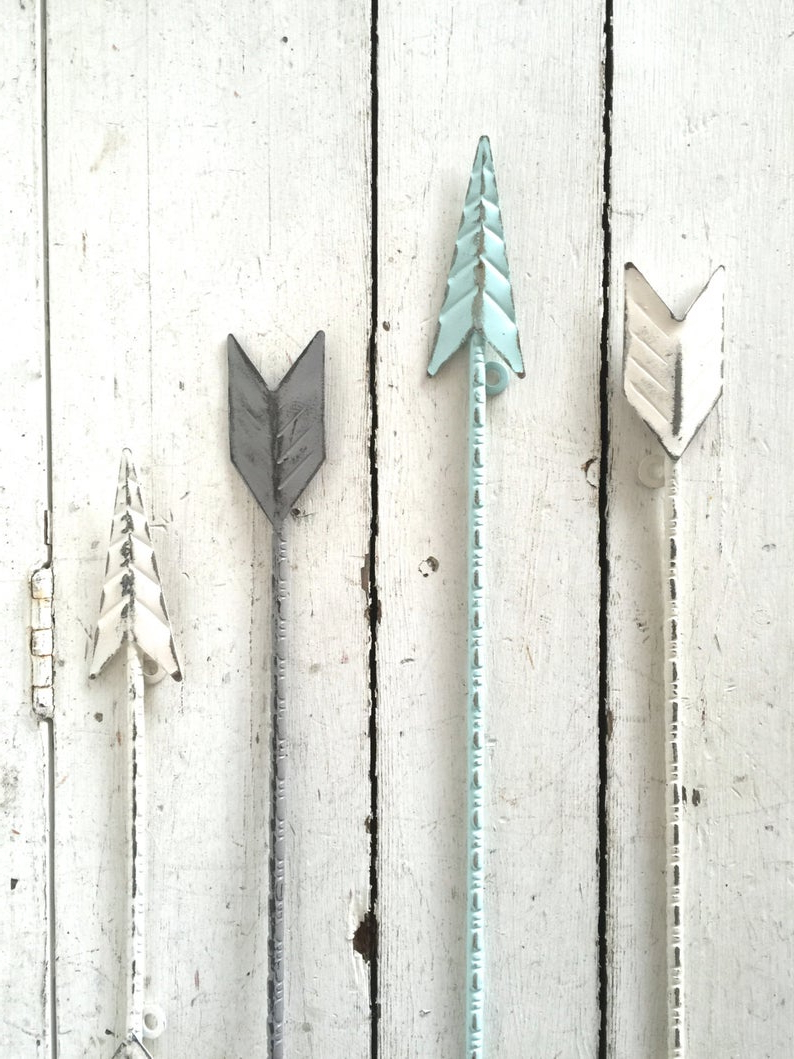 Etsy Intended For Fashionable Brown Metal Tribal Arrow Wall Decor (Gallery 4 of 20)