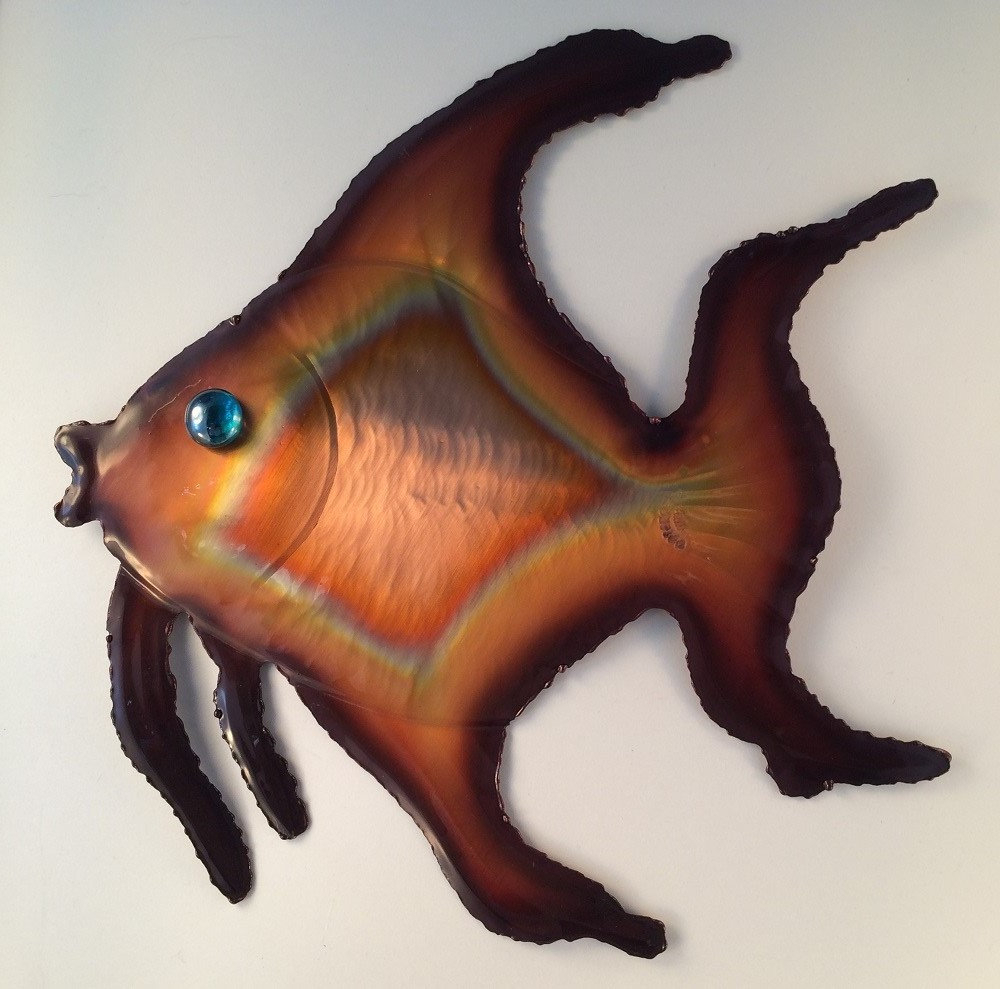 Etsy Regarding Newest Coastal Metal Fish Wall Decor (View 18 of 20)