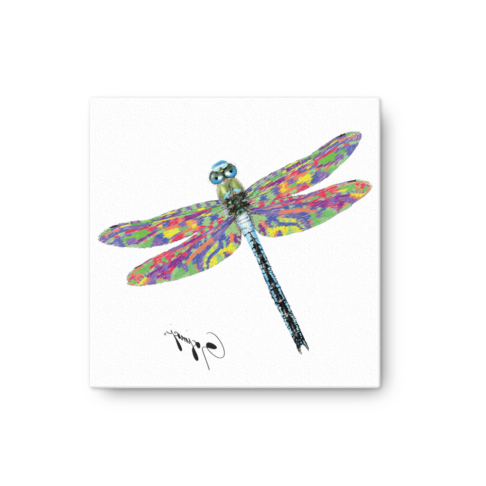 Fashionable Dragonfly Wall Artgogimogi – Dragonfly Design On Canvas With Regard To Dragonfly Wall Decor (View 4 of 20)