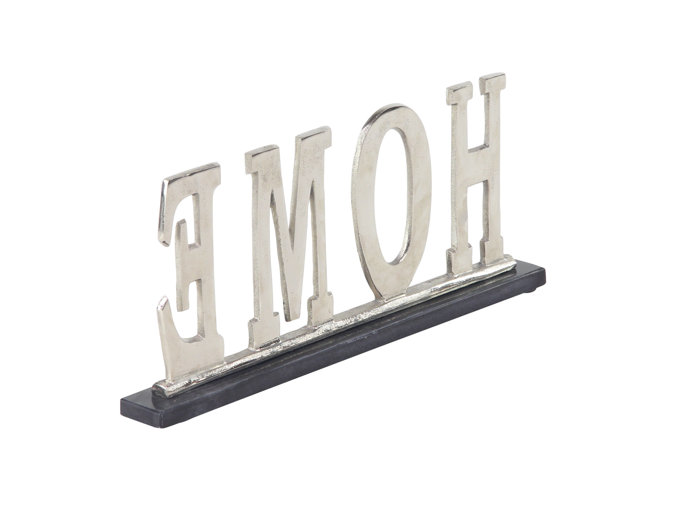 "Fashionable Grey ""eat"" Sign With Rebar Decor Within Gassett Modern Metal Kitchen Sign Letter Blocks (Gallery 7 of 20)"