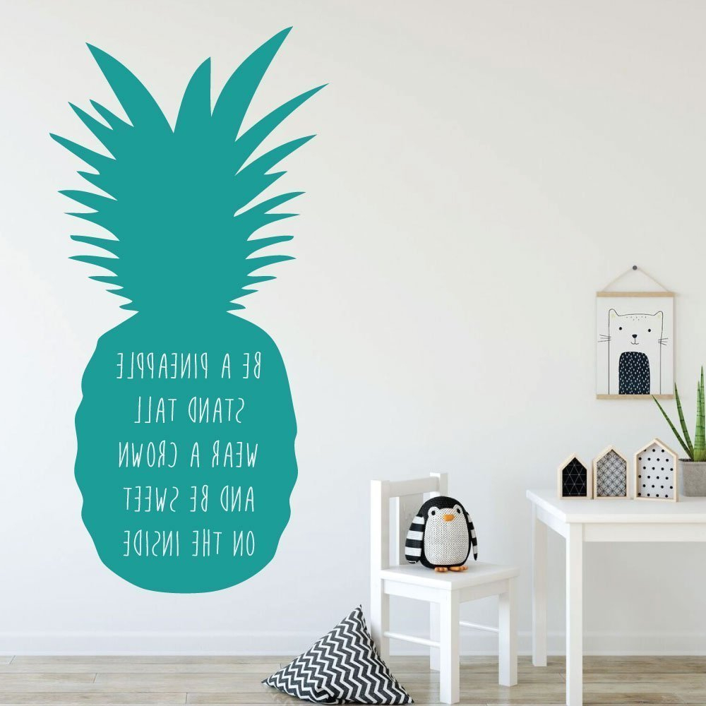 Favorite Amazon: Pineapple Wall Decor – Be A Pineapple Stand Tall – With With Pineapple Wall Decor (View 15 of 20)