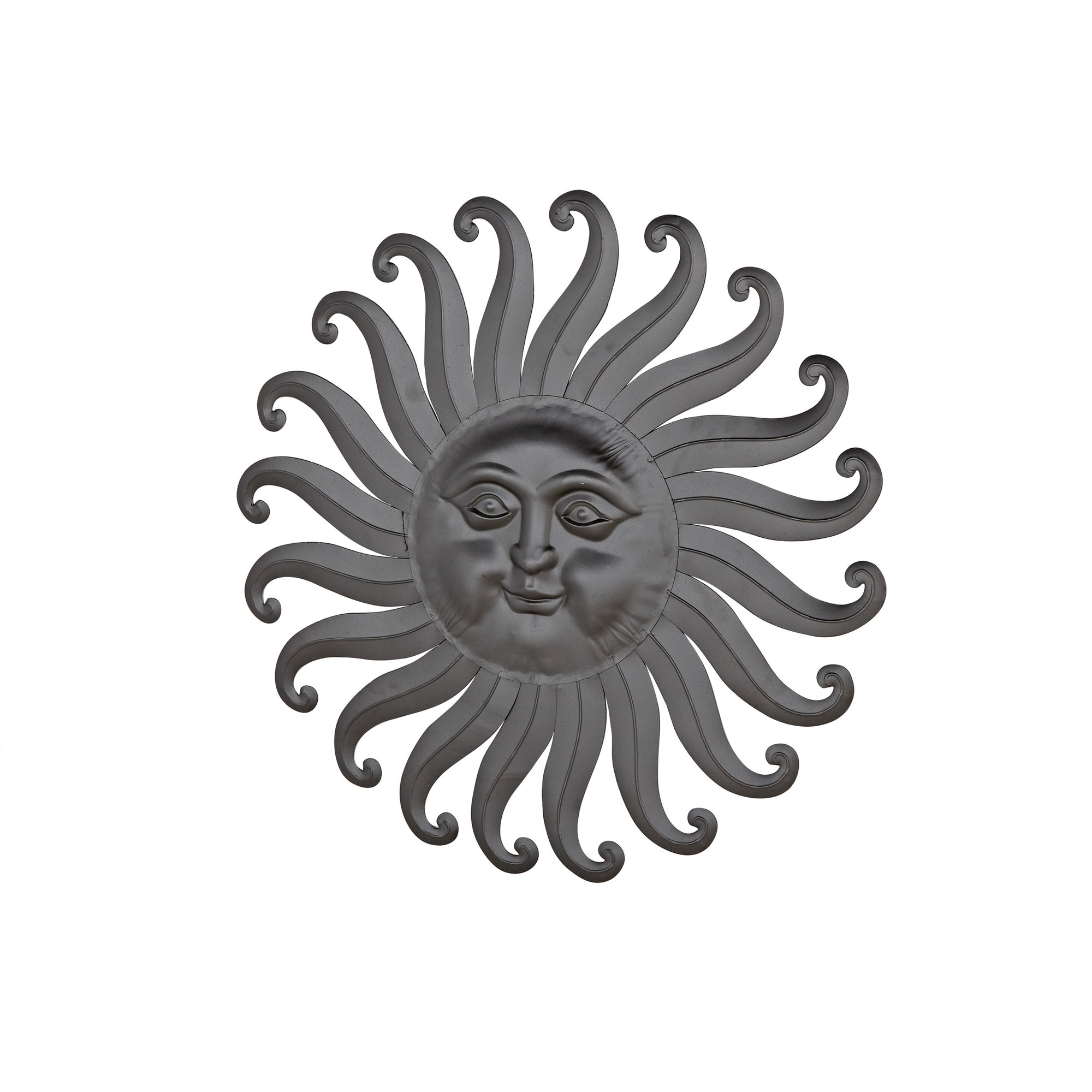 Favorite Leaves Metal Sculpture Wall Decor By Winston Porter Inside Winston Porter Traditional Iron Sun Decor (View 16 of 20)