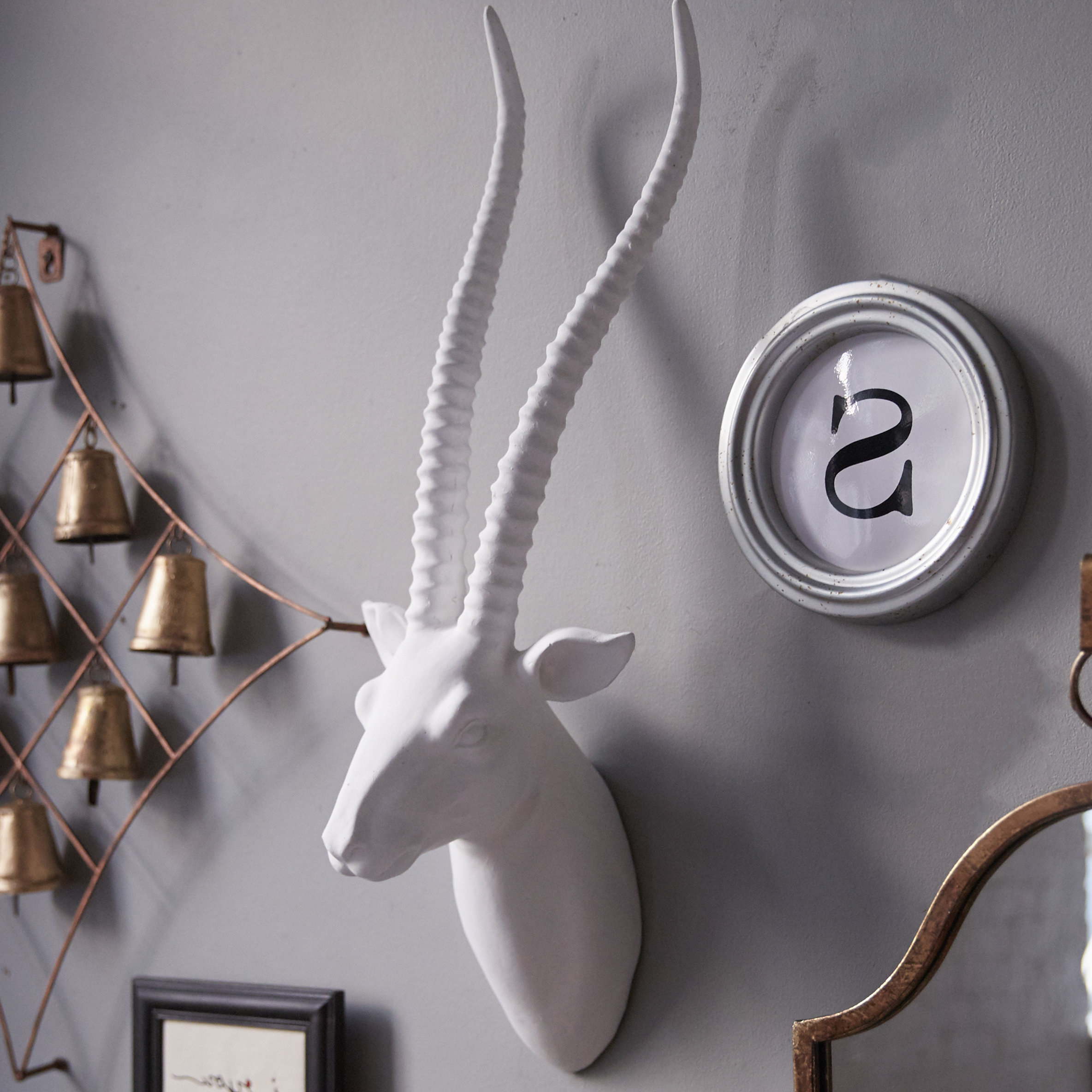 Favorite Willa Arlo Interiors Gazelle Faux Taxidermy Wall Decor & Reviews With Regard To Highlands Ranch The Templeton Wall Decor (View 6 of 20)