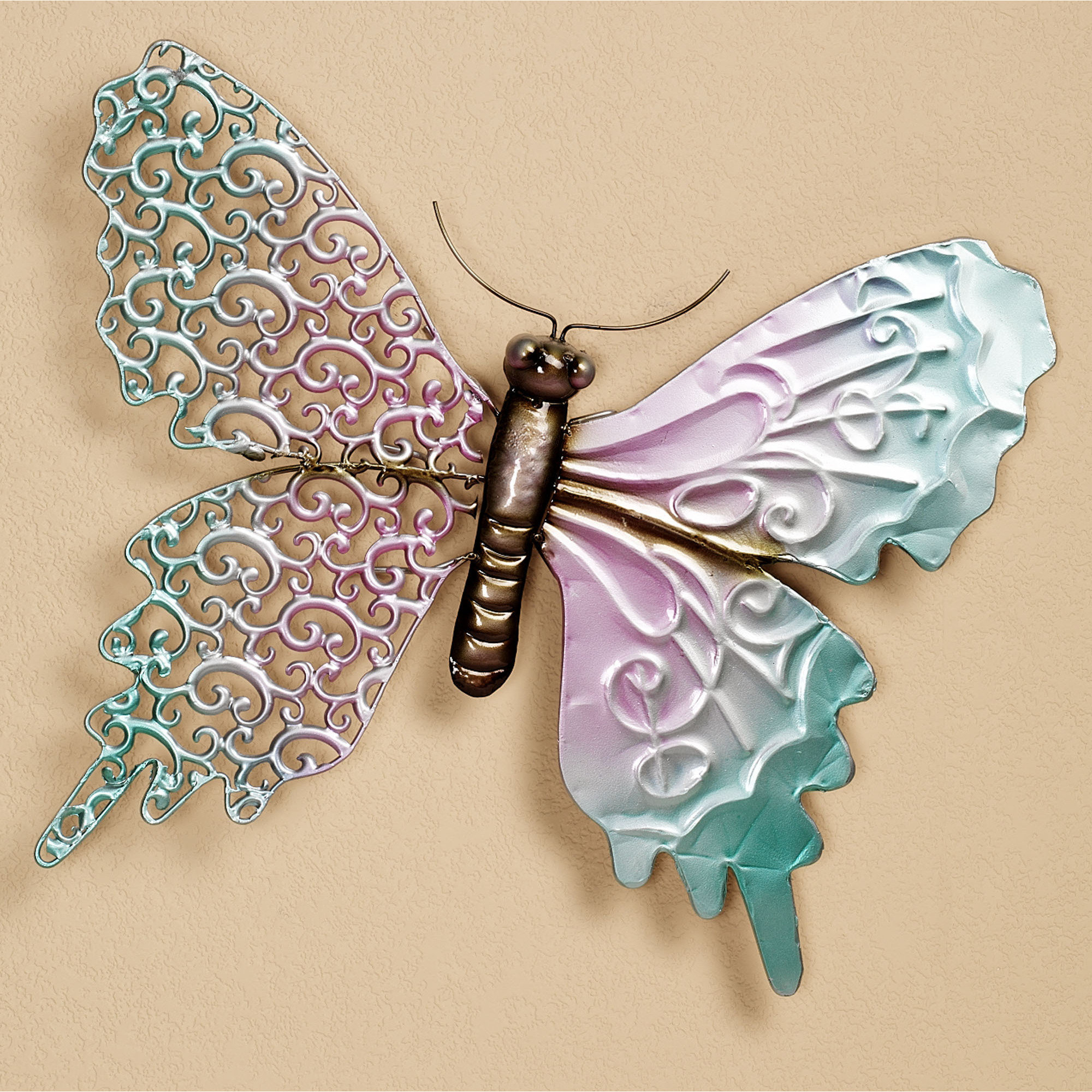 Ila Metal Butterfly Wall Decor Regarding Recent 25 Magnanimous Butterfly Wall Decor That Gives You Pleasure (Gallery 14 of 20)