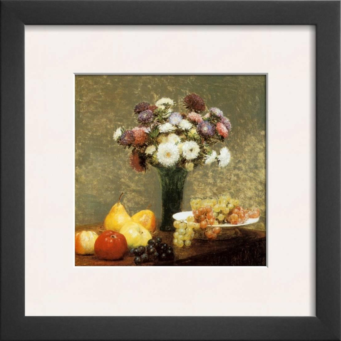 Latour Wall Decor Inside Best And Newest Asters And Fruit Framed Art Print Wall Arthenri Fantin Latour (View 10 of 20)